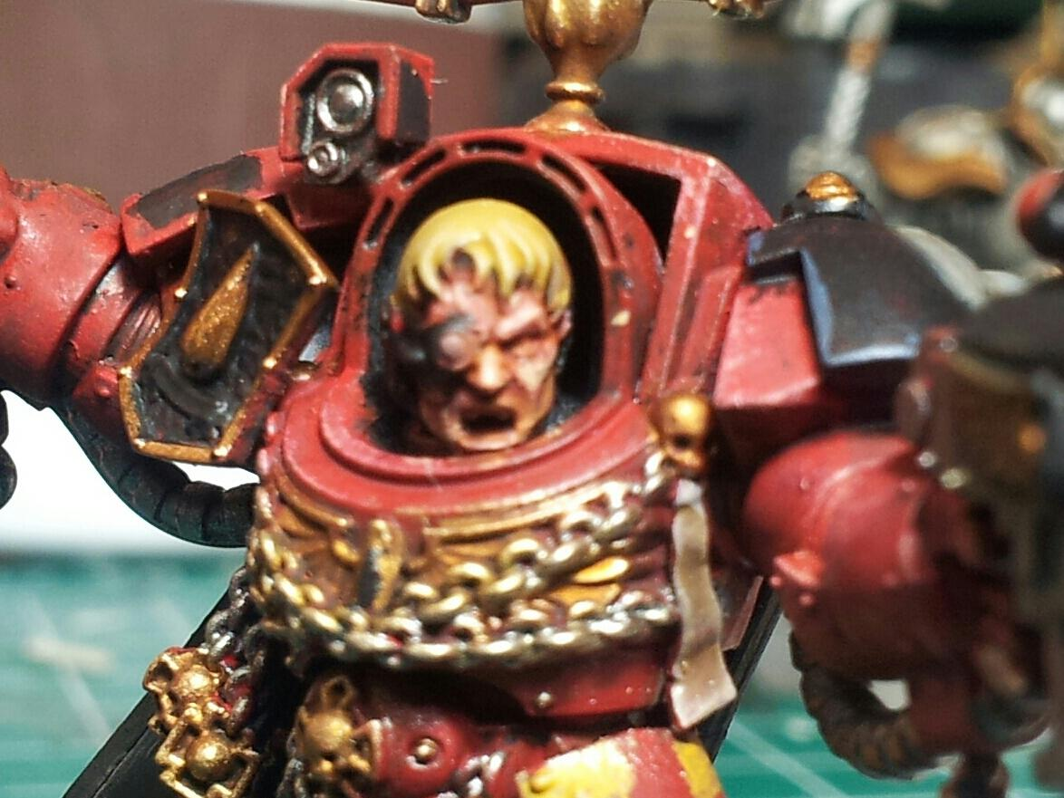 Captain Karlaen, Blood Angels 1st Company