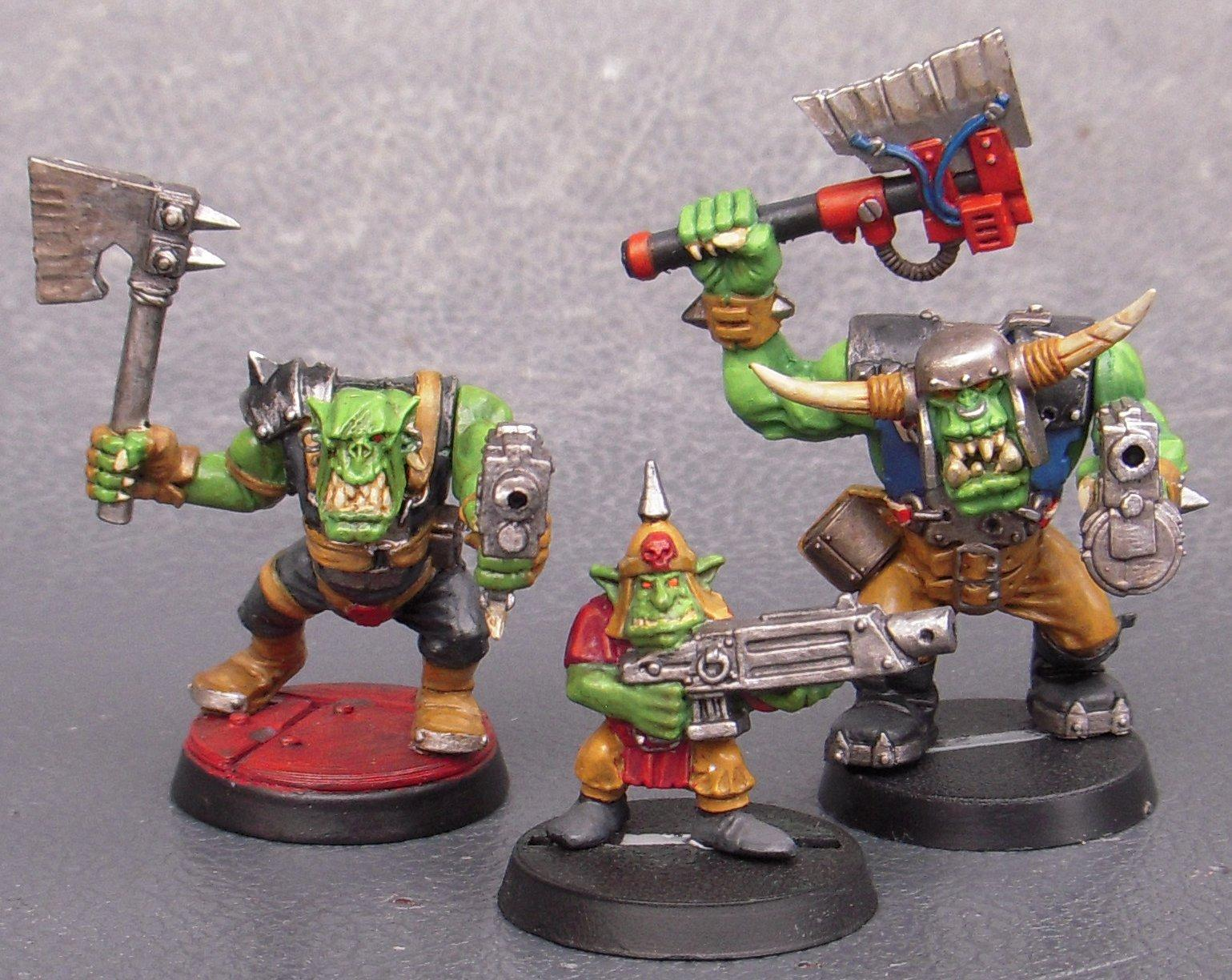 Boy, Clan, Dakka Dakka, Gretchen, Group, Nob, Orks, Warhammer 40,000, Warhammer Fantasy