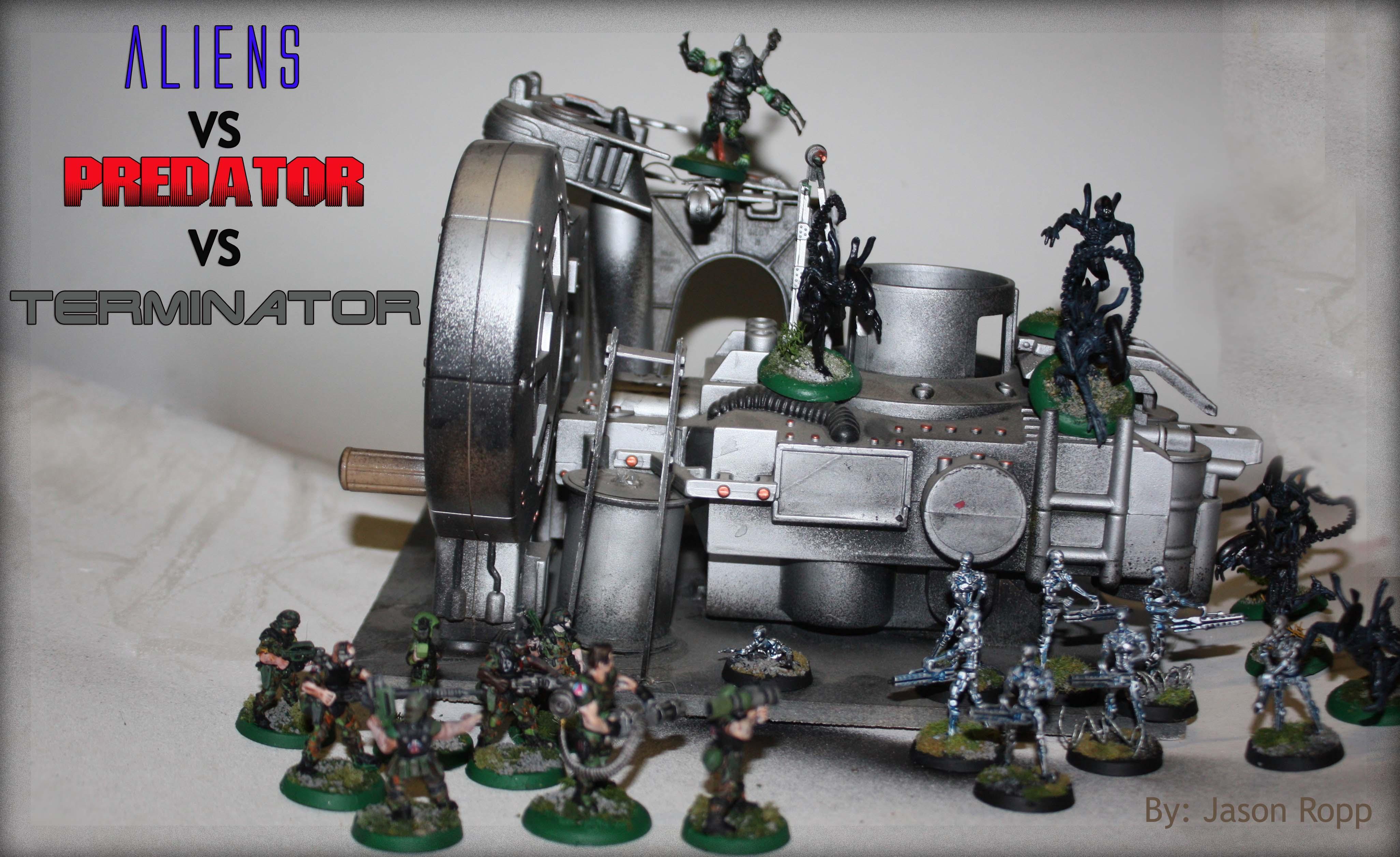 28mm, 32mm, Aliens, Avp, Avpvt, Battle, Dark Horse, Game, Gynisis, Heroclix, Horrorclix, Miniatures, Predator, Terminator Armor, Wargemer