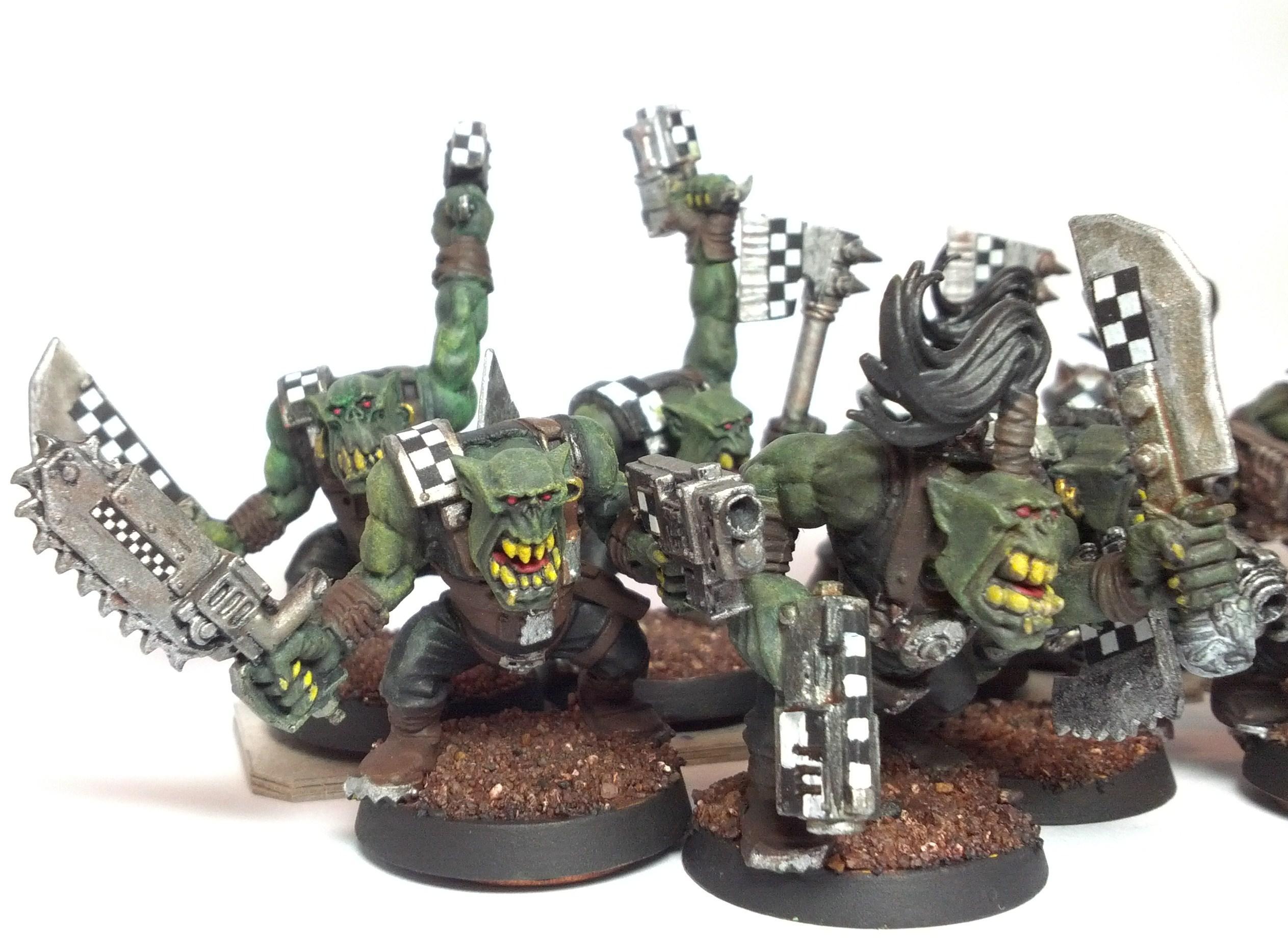 Boy, Orks, Slugga, Slugga Boyz