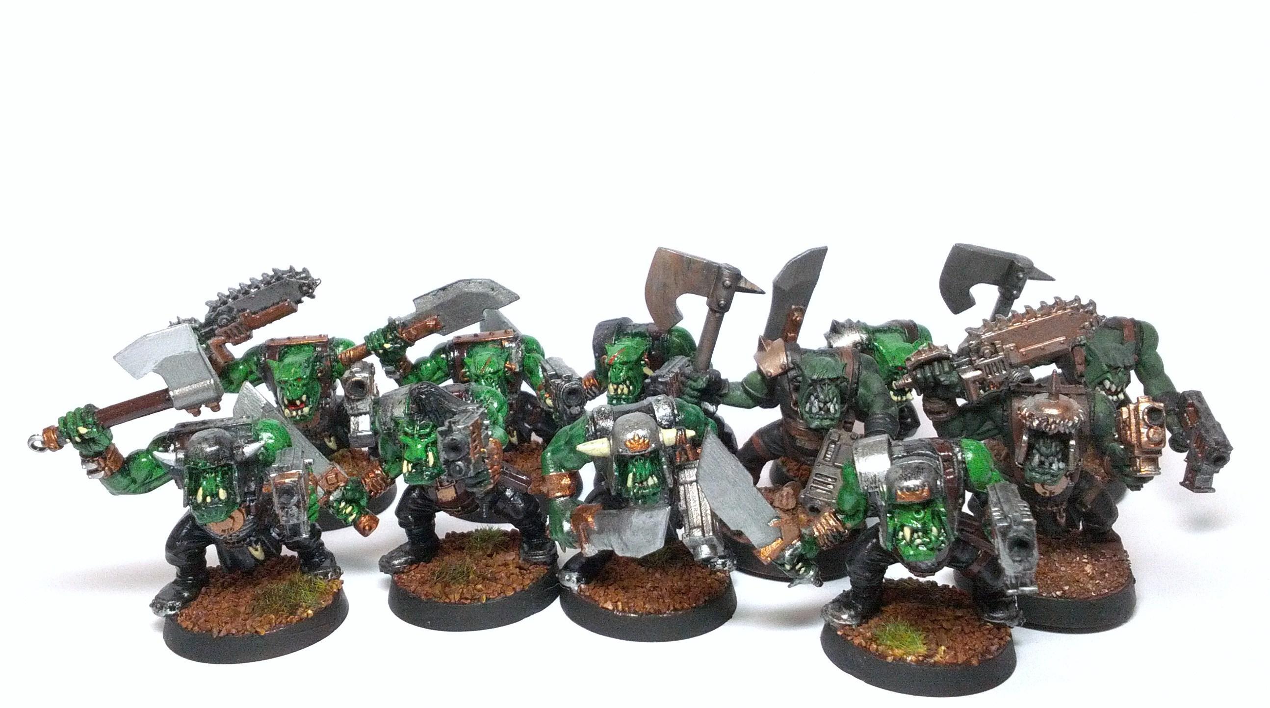 Boy, Orks, Slugga Boyz