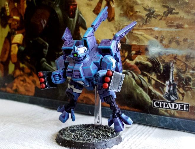 Tau, Tau Empire, Custom Tau Commander (Magnetized)