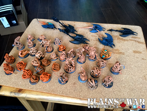 Daemons, Pink Horrors, Plains Of War, Pow, Screamers, Warhammer 40,000