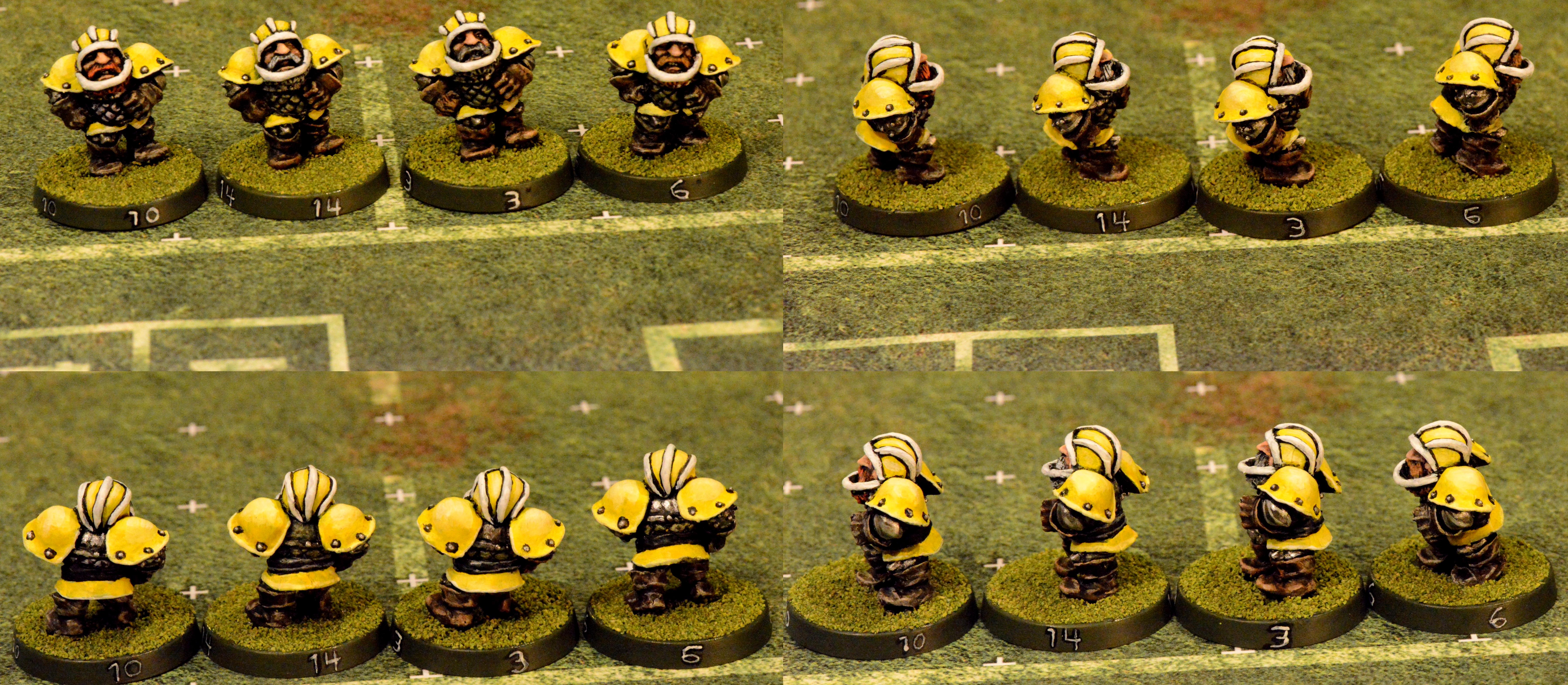 2nd, 2nd Edition, Blocker, Blockers, Blood, Blood Bowl, Bowl, Dwarves, Edition