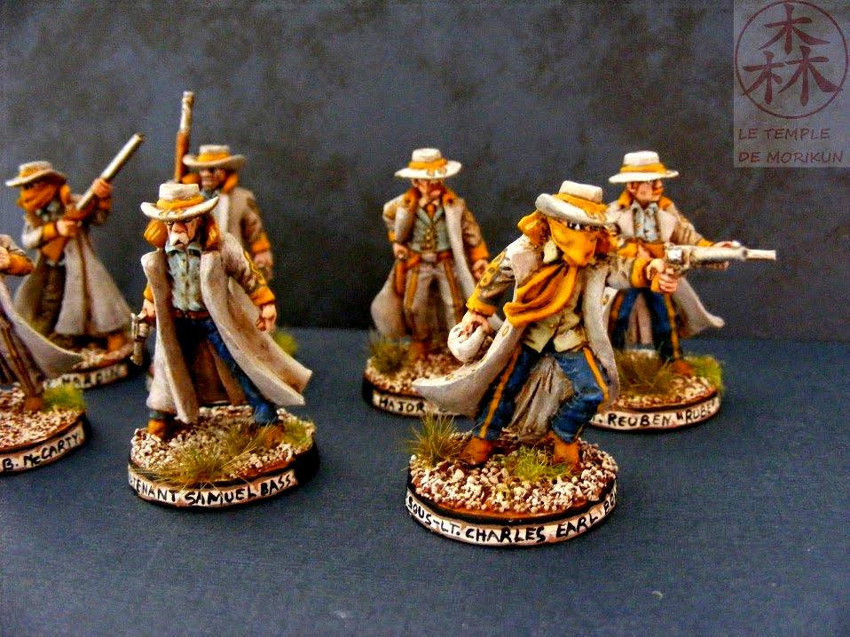 Black Scorpion Miniatures, Dead Man's Hand, Desperados, Dixies, Morikun, South