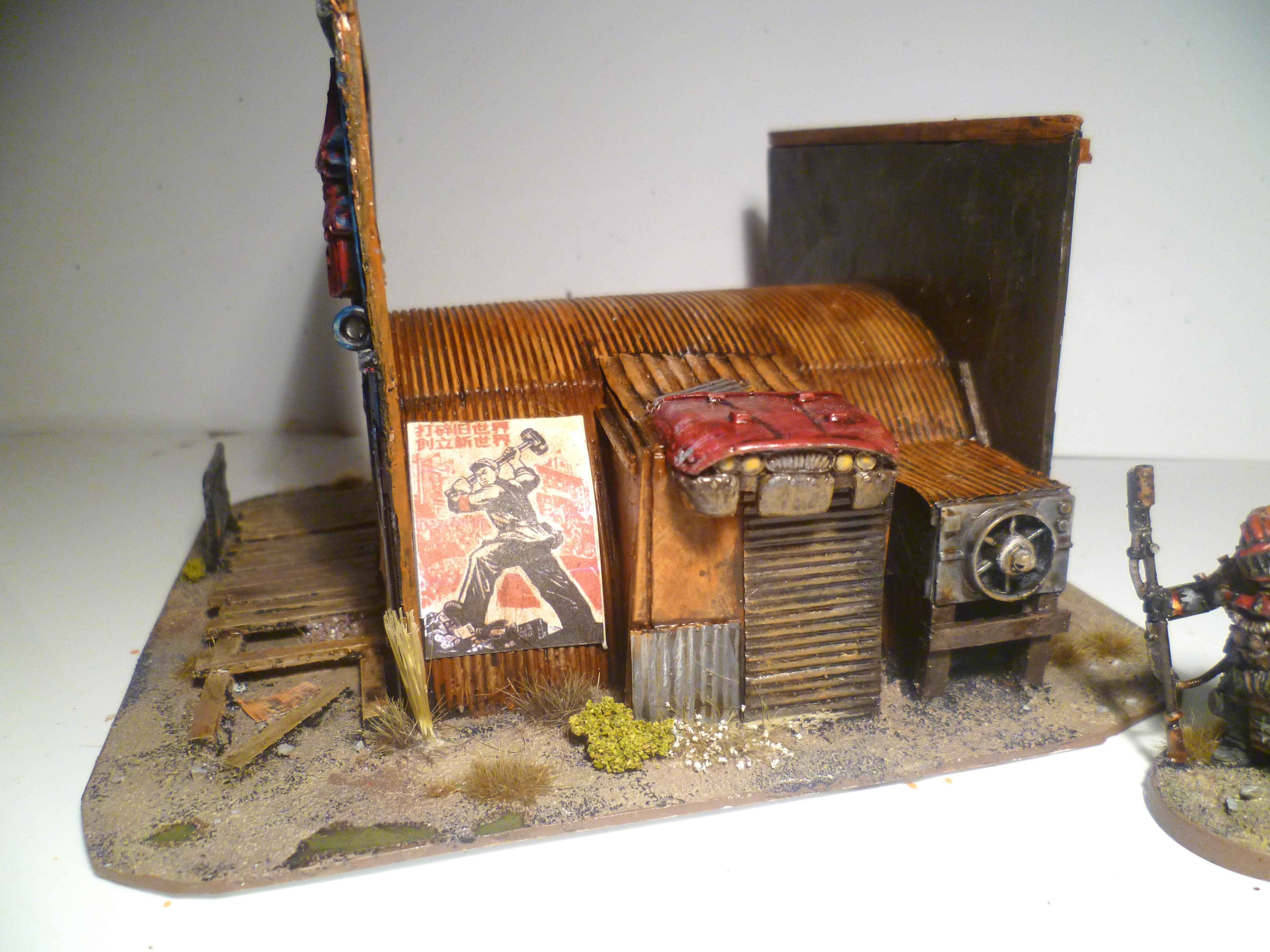 Fallout, Hut, Shack, Terrain
