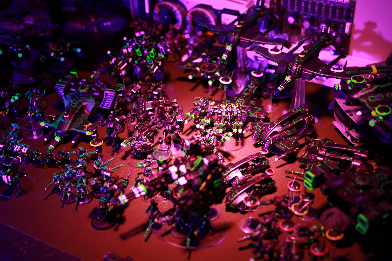 Forge World, Ke'lshan, Neon, Tau, Tron, Uv
