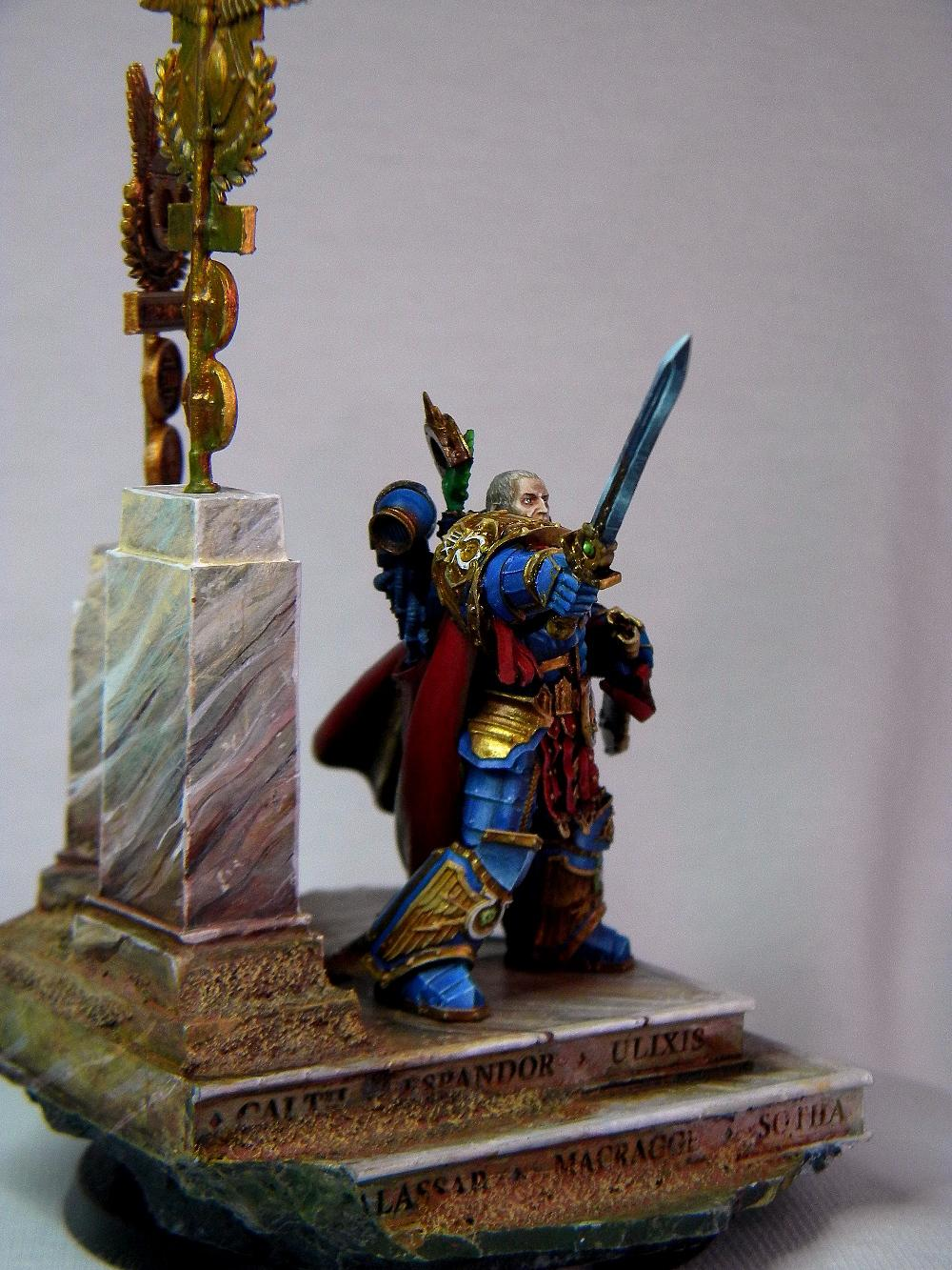 Roboute Guilliman, Ultramarines, Warhammer 30k
