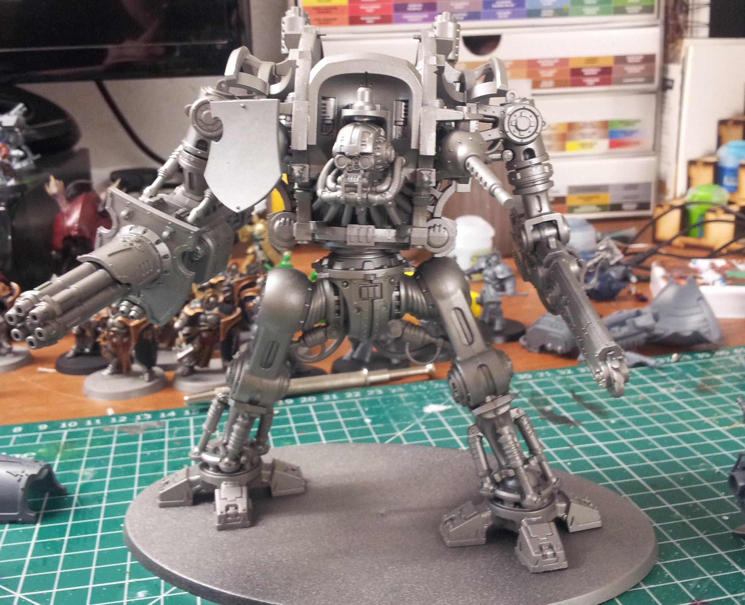 Knight Skeleton basecoated