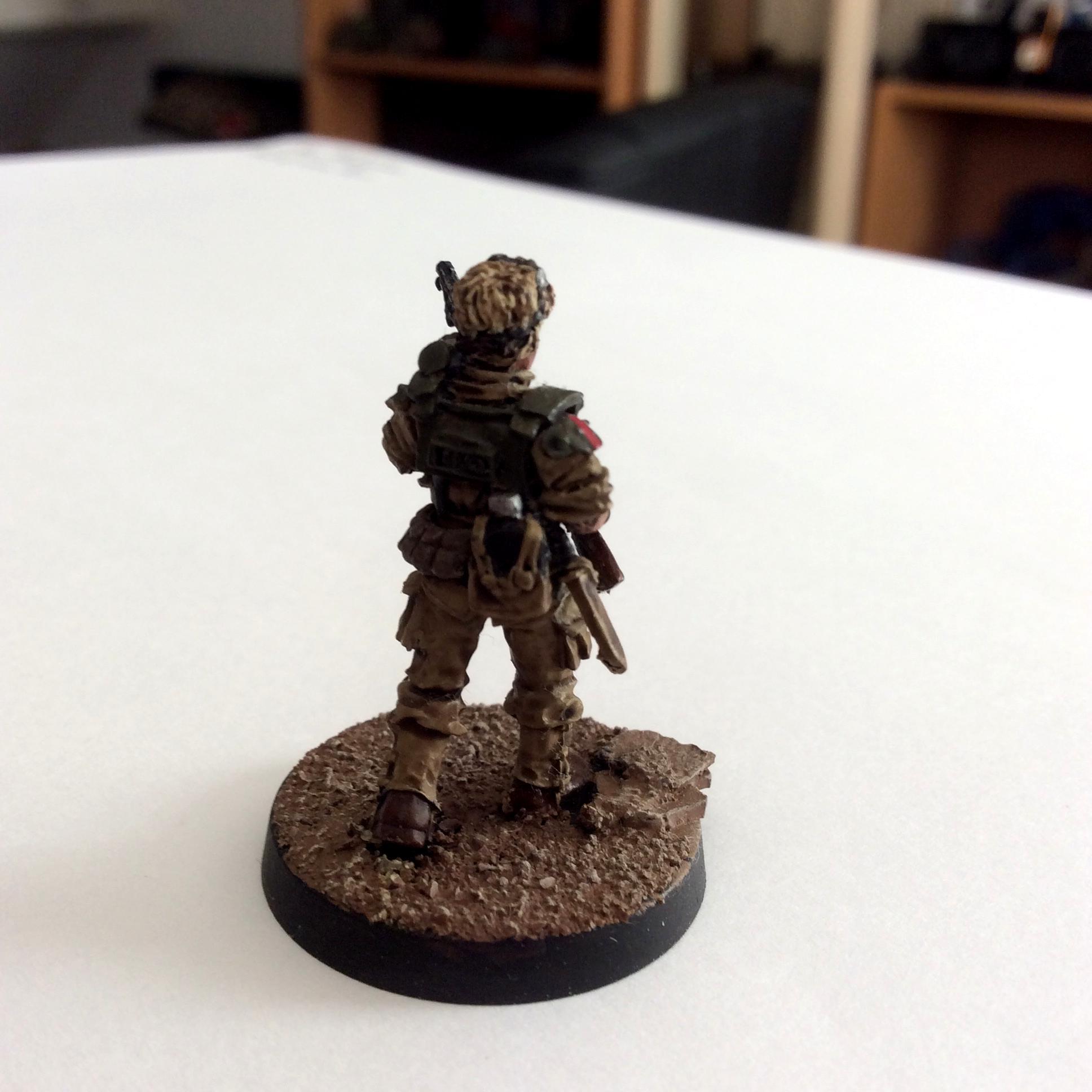 Astra Militarum, Female, Female Guard, Grrrl, Halloween, Imperial Guard, Shotgun, Warhammer 40,000, Woman