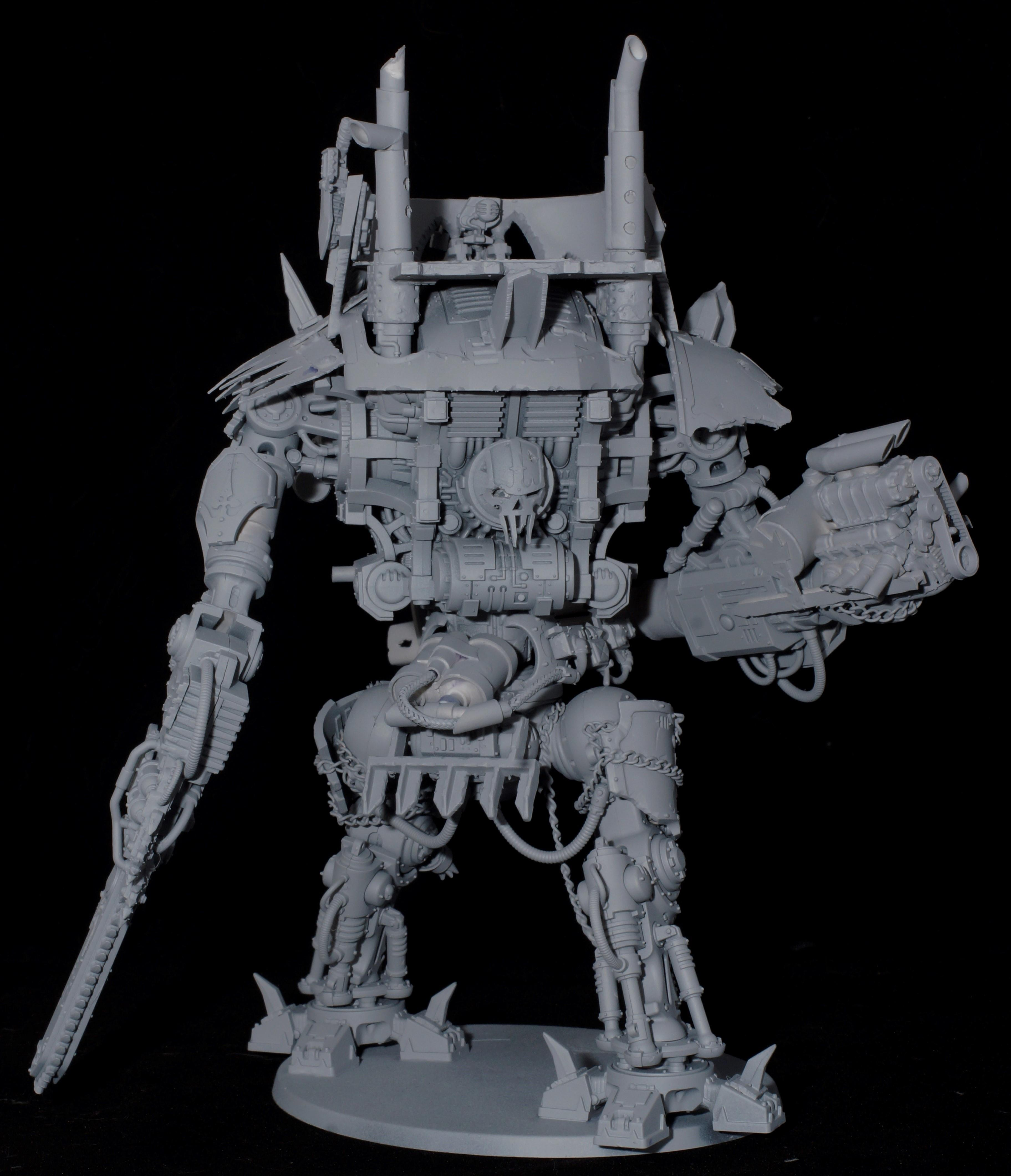 Imperial Knight, Loot, Looted, Orks