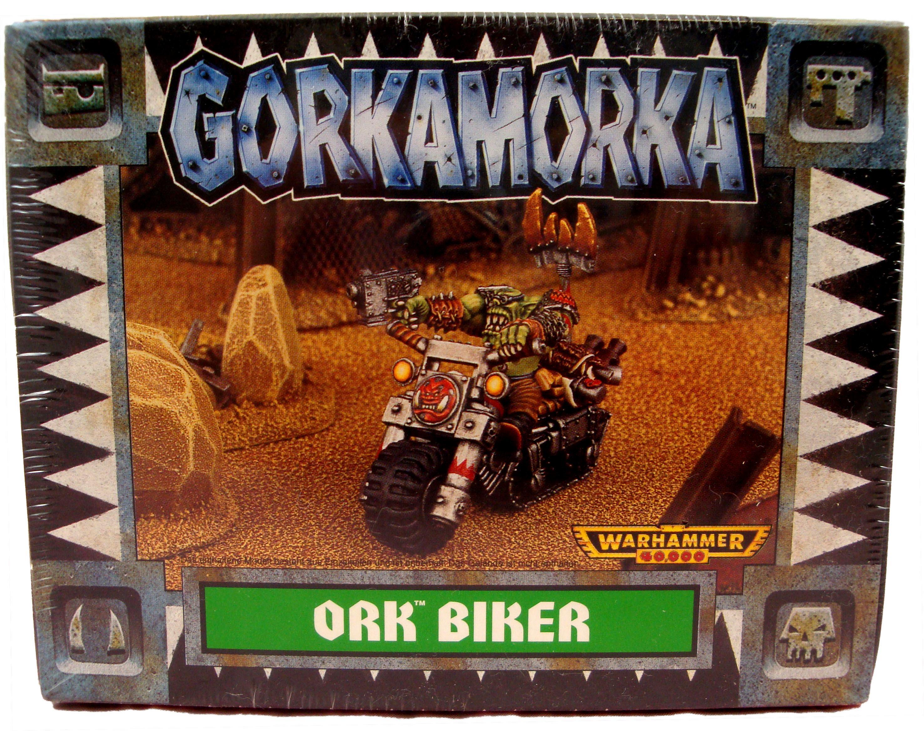 Ork Gorkamorka Ork Biker