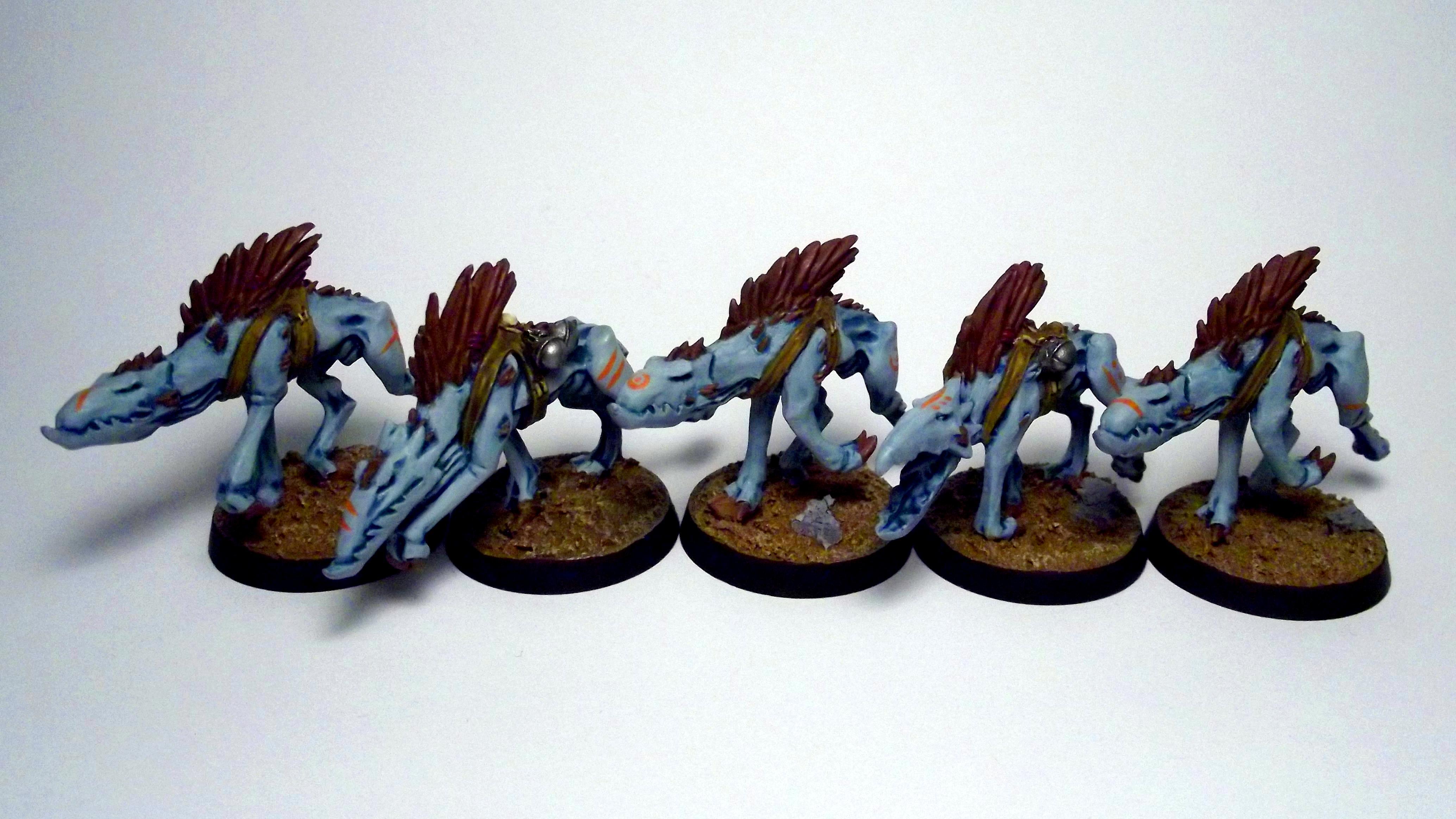 Blue, Hound, Kroot, Kroot Hounds Batch 1