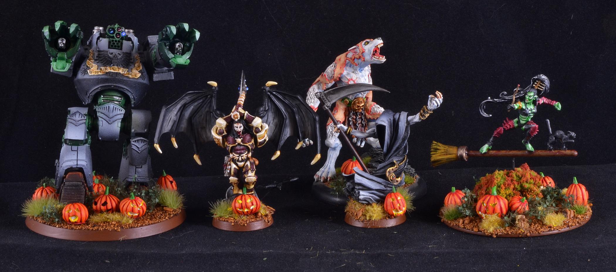 Chaos, Halloween, Halloween Army, Warhammer 40,000