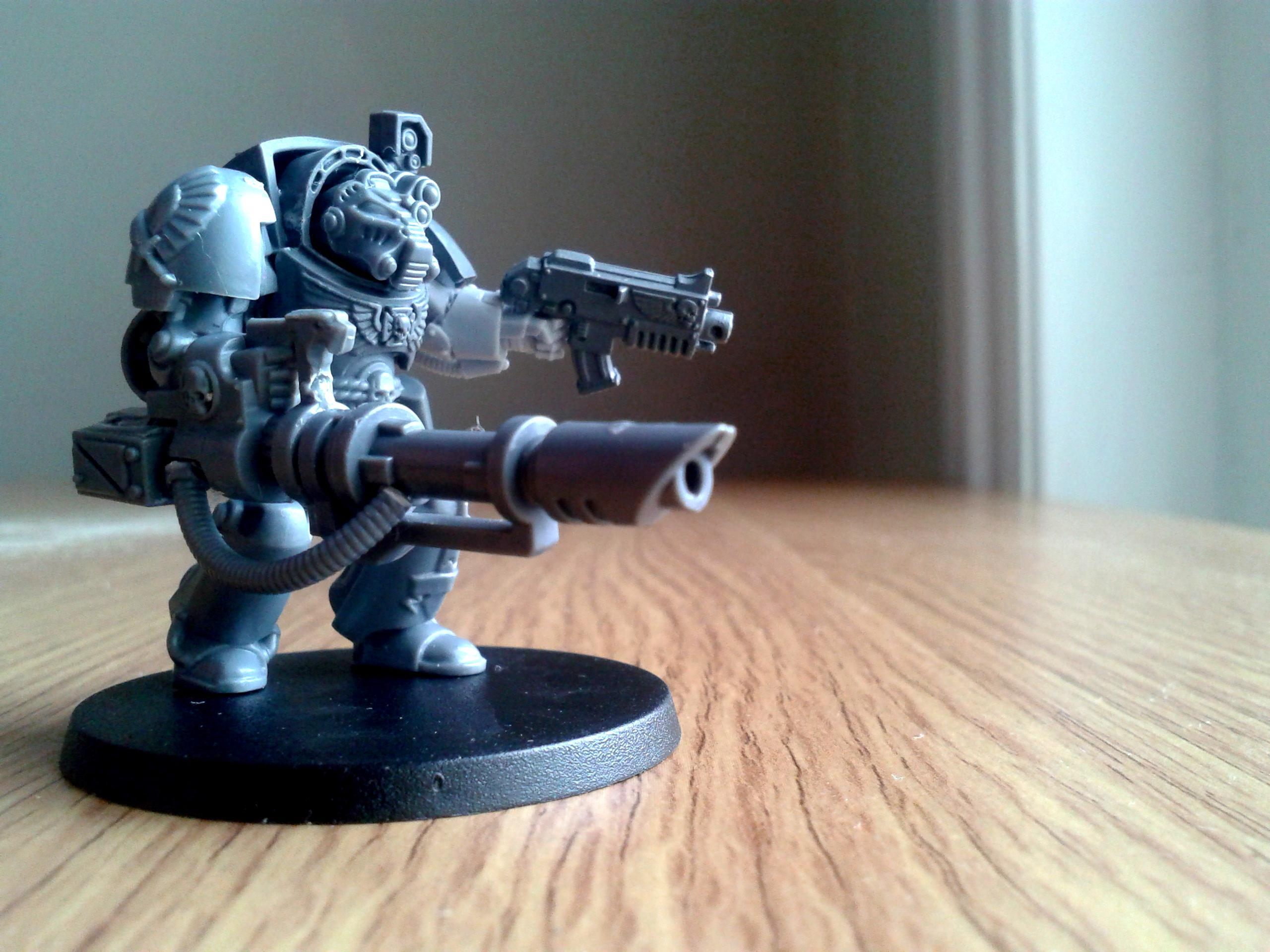 Conversion Wip, Devastator, Laser, Terminator Armor