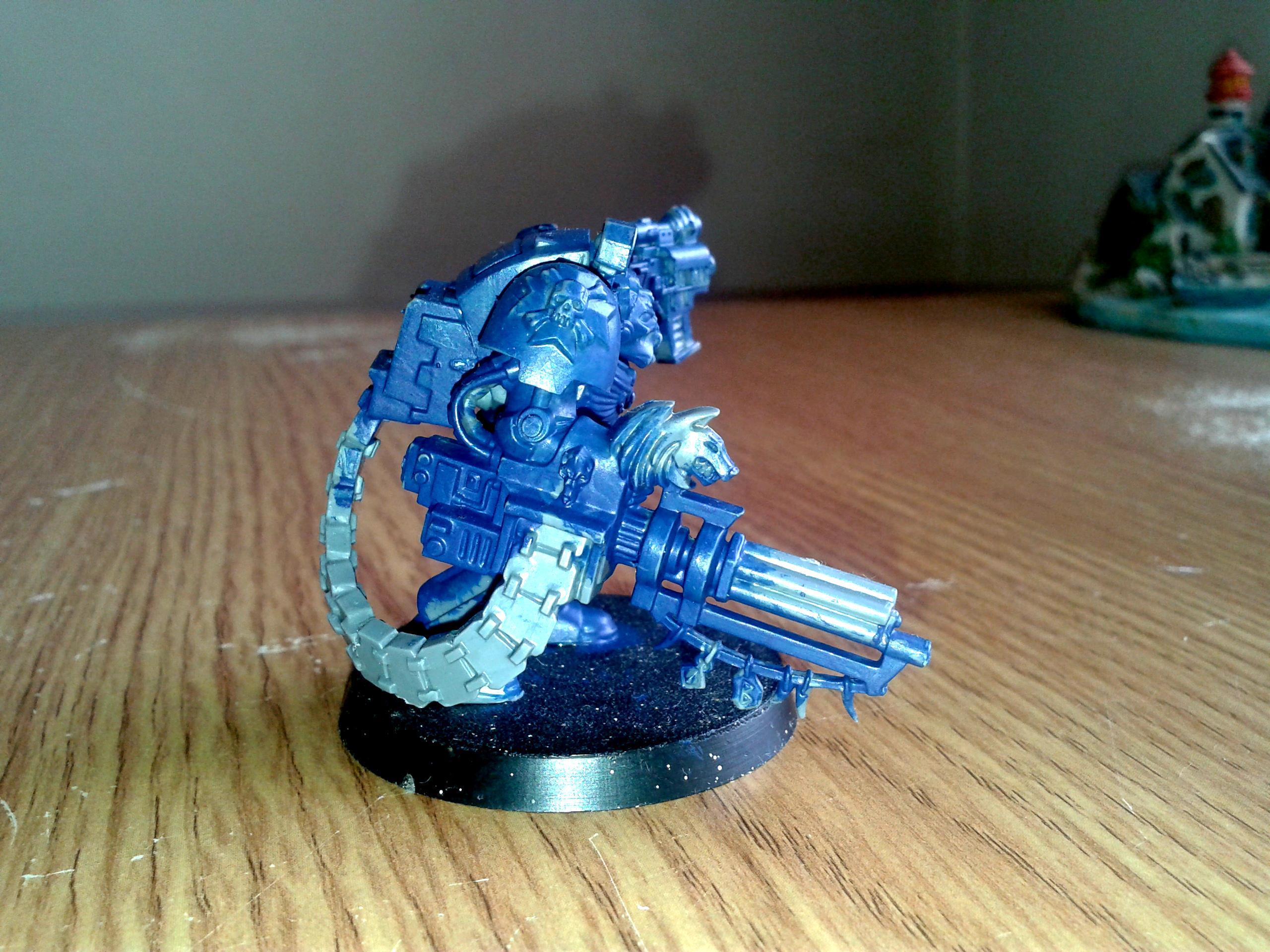 Assault Cannon, Conversion Wip, Terminator Armor