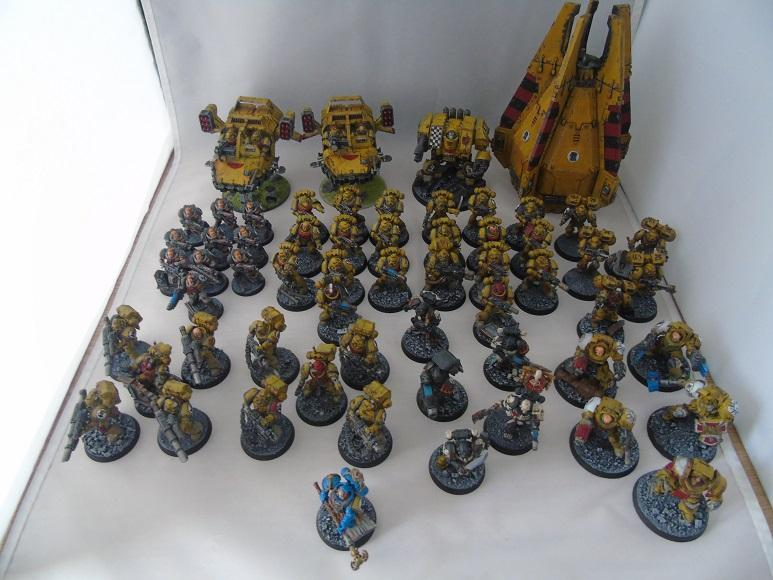 Adepus Astartes, Battle Damage, City, Imperial Fists, Rubble, Ruins, Space Marines, Urban, Weathered, Yellow