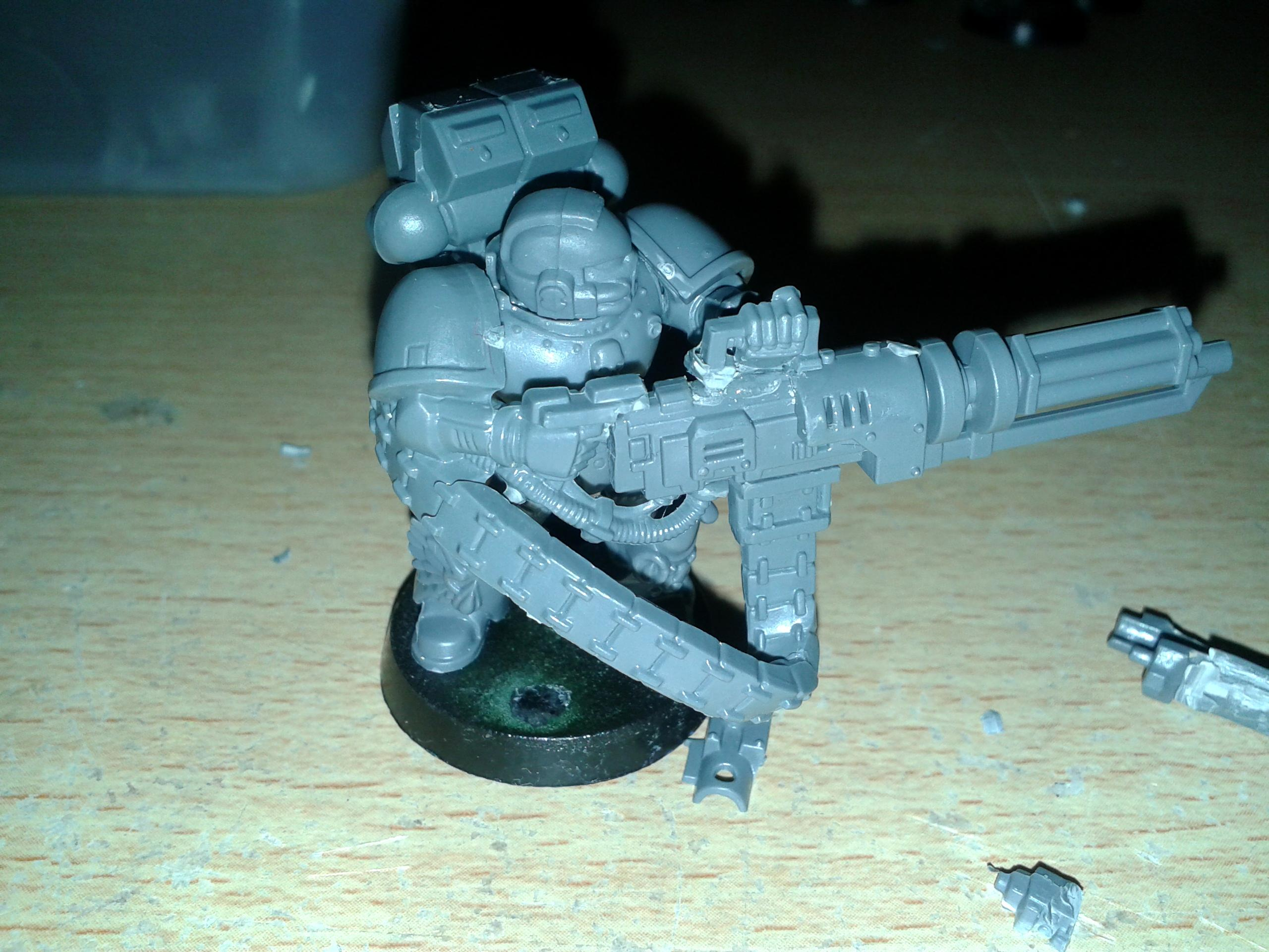 Assault Cannon, Space Marine Devastator Assault Cannon 02