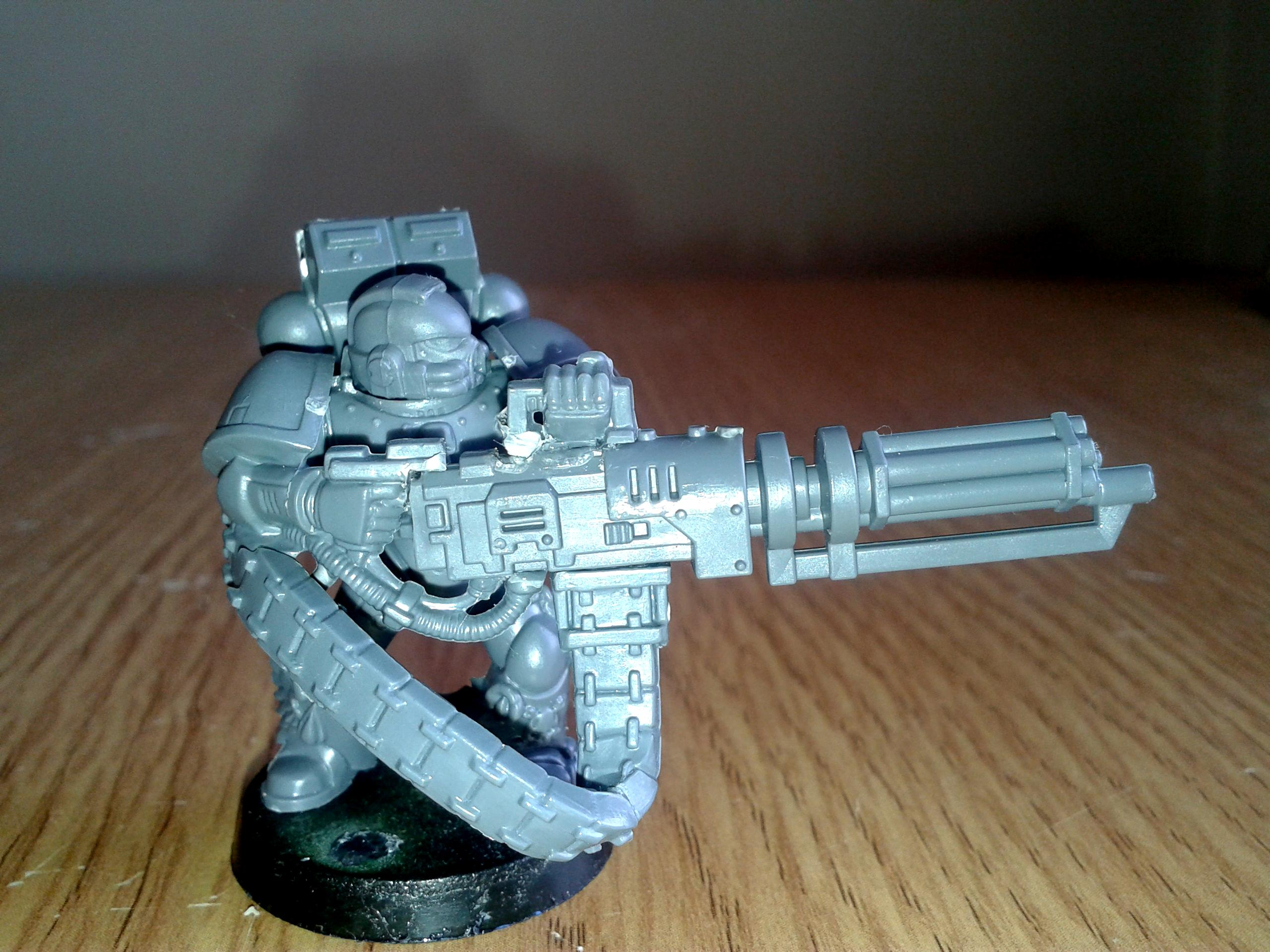 Assault Cannon, Space Marine Devastator Assault Cannon 03