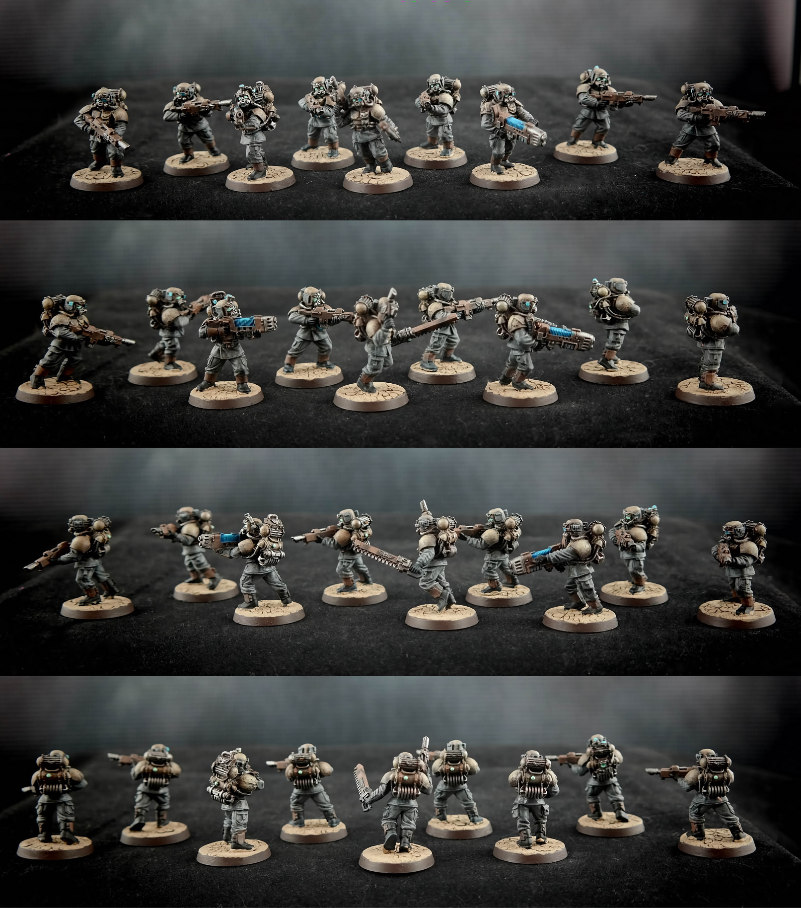 Air Cavalry, Astra Militarum, Cadians, Elysians, Forge World, Hostile Environment, Imperial Guard, Imperial Navy, Militarum Tempestus, Scions, Veteran
