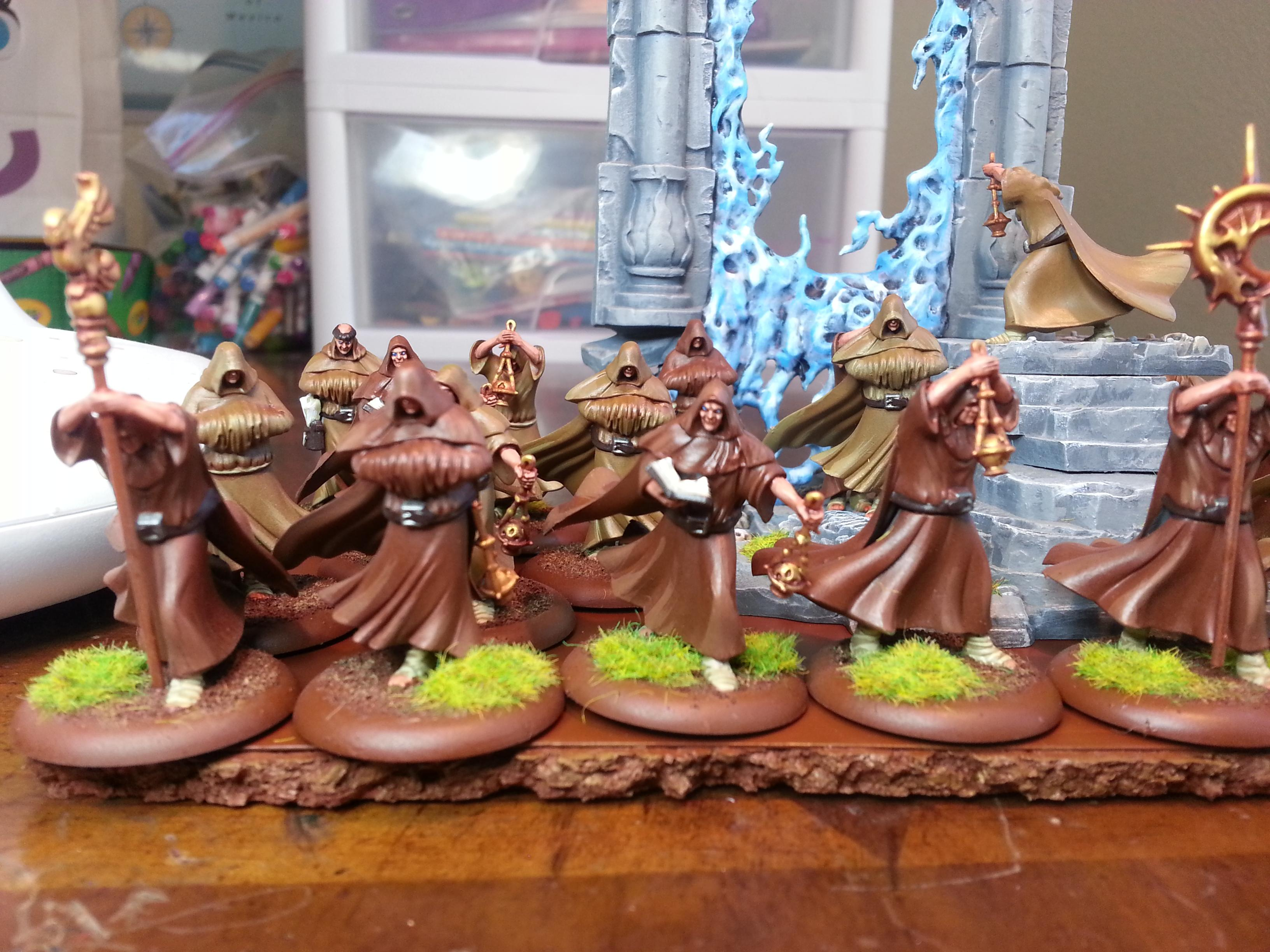 Army Of Light, Basilea, Monks, Penitents