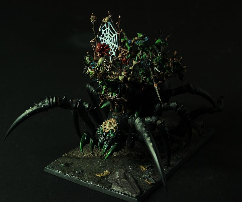 Arachanarok, Goblins, Warhammer Fantasy