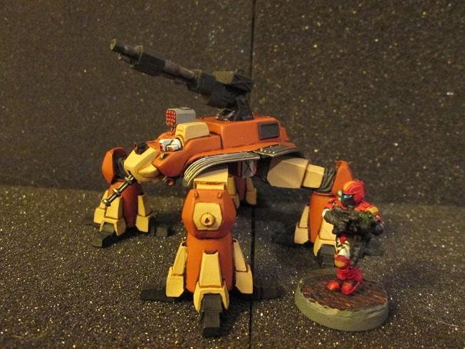 Thunderhammer vs. 28mm figure