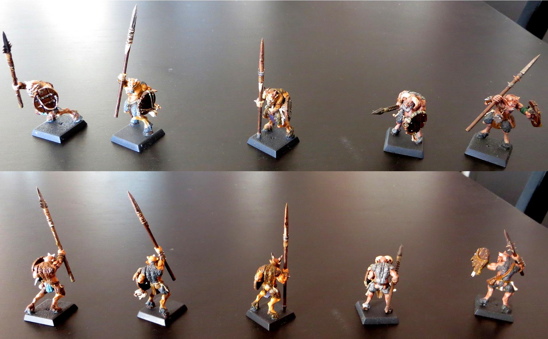 Beastmen, Chaos, Mordheim, Ungor, Warband