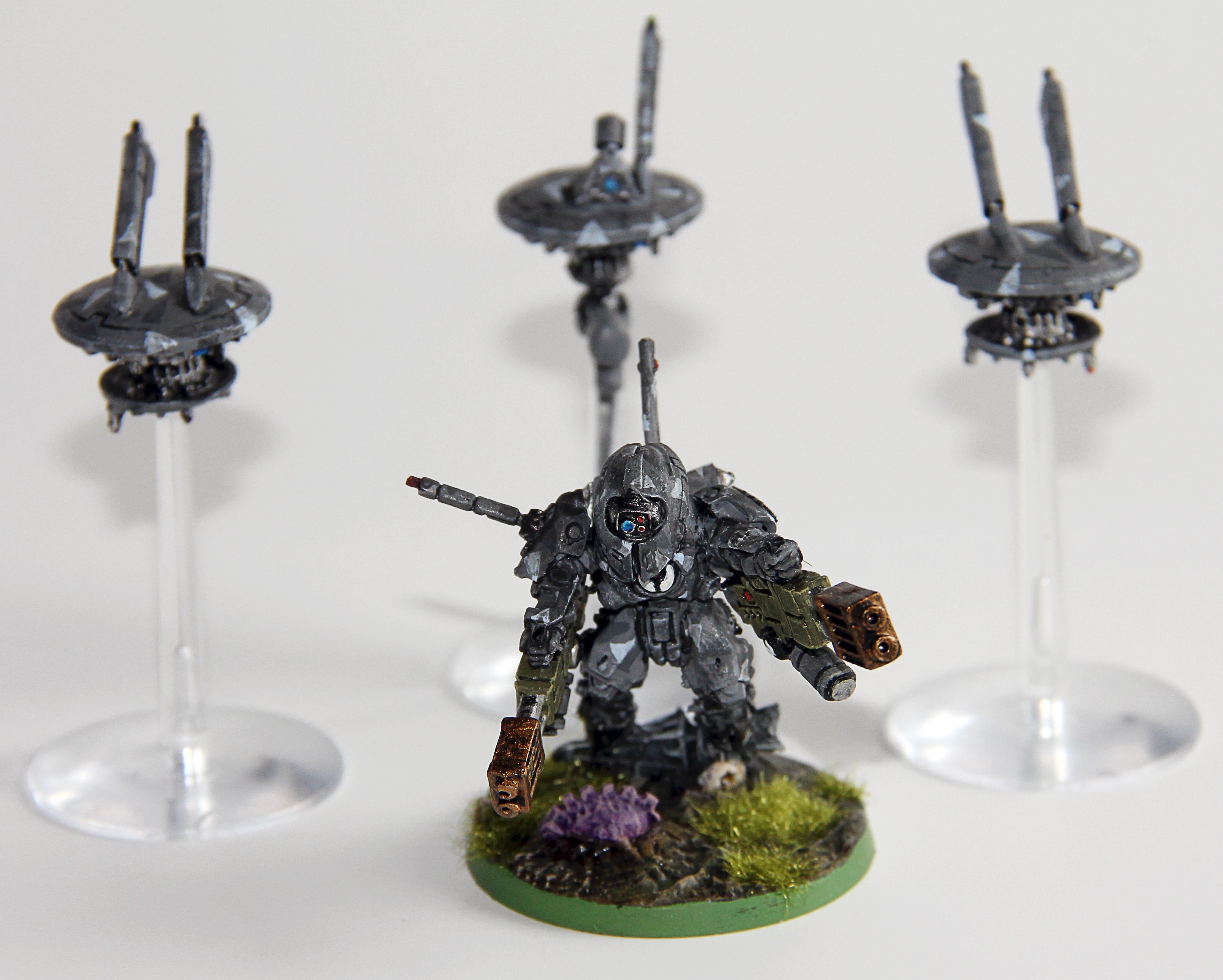 Drones, Shadowsun, Tau