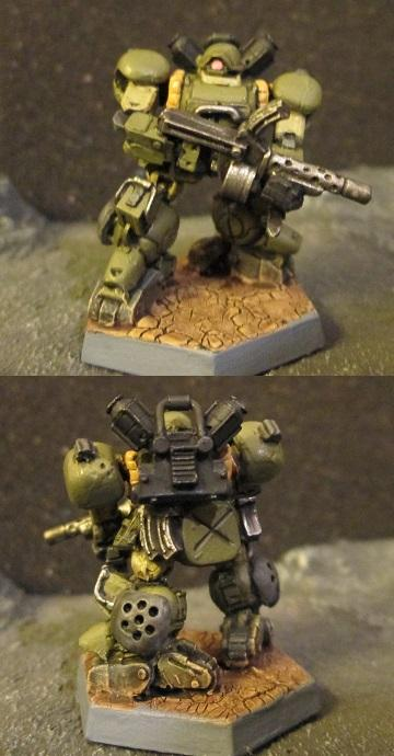 Southern Paratrooper Jaeger