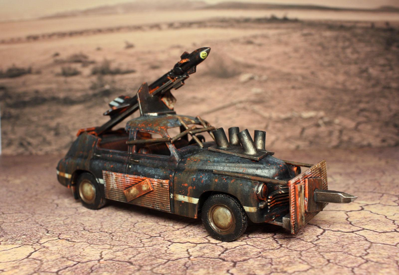 Apo, Apocalypse, Button, Cars, Mad, Max, Nation, Post, Rbn, Red, Rust, Weathered