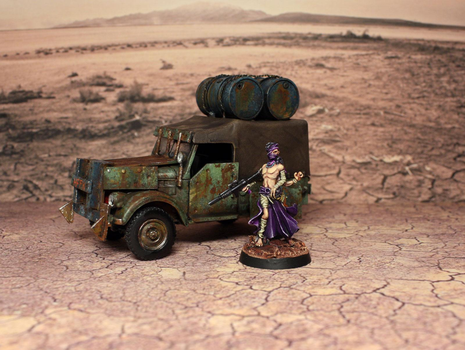 Apocalyptic, Button, Cars, Dirt, Drone, Dust, Jeep, Nation, Post, Post Apocalyptic, Post-apo, Red, Robot, Ronin, Rust, Rusty, Turquoise, Weathered