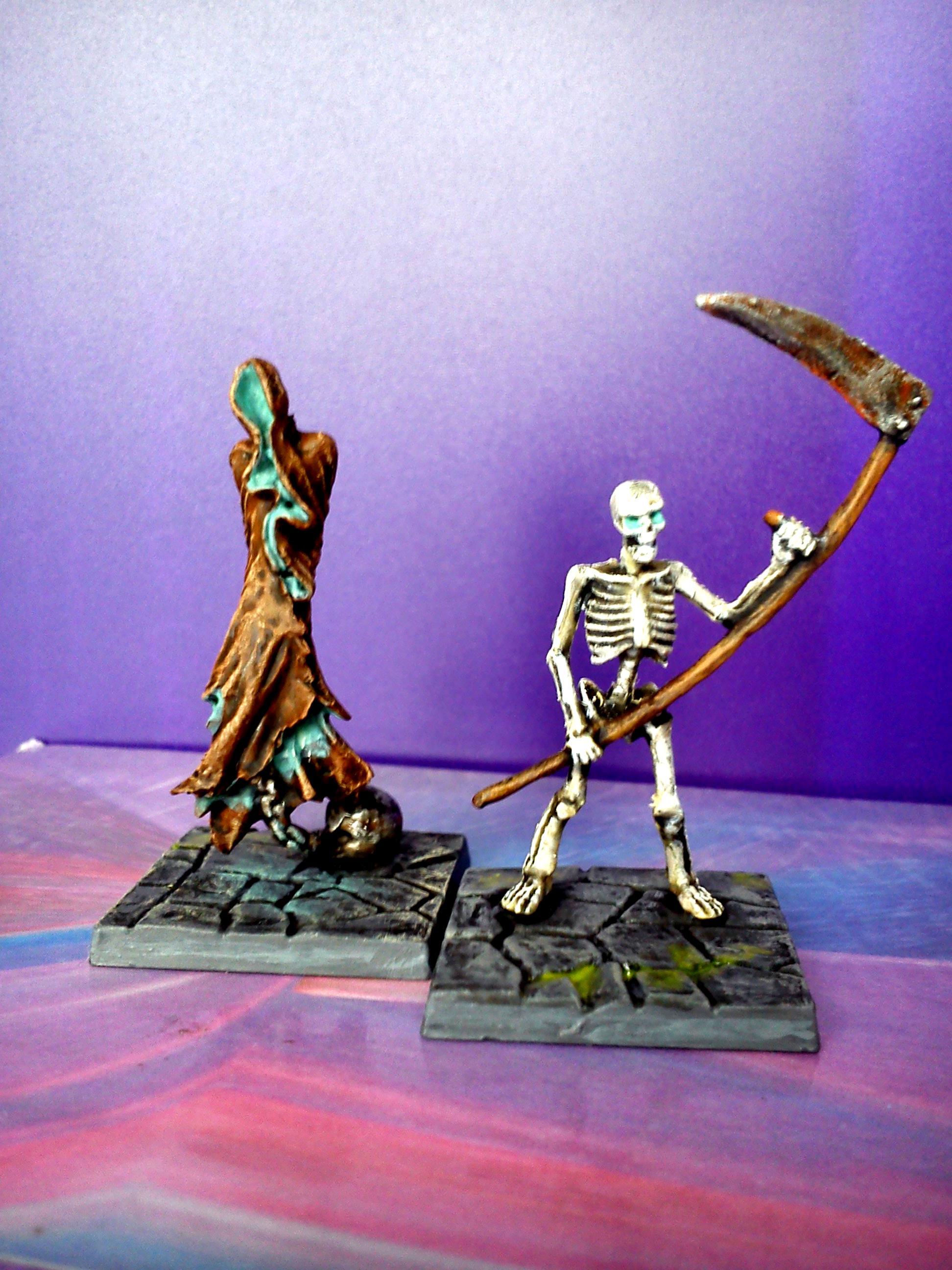 dungeon saga ghost and skeleton warrior