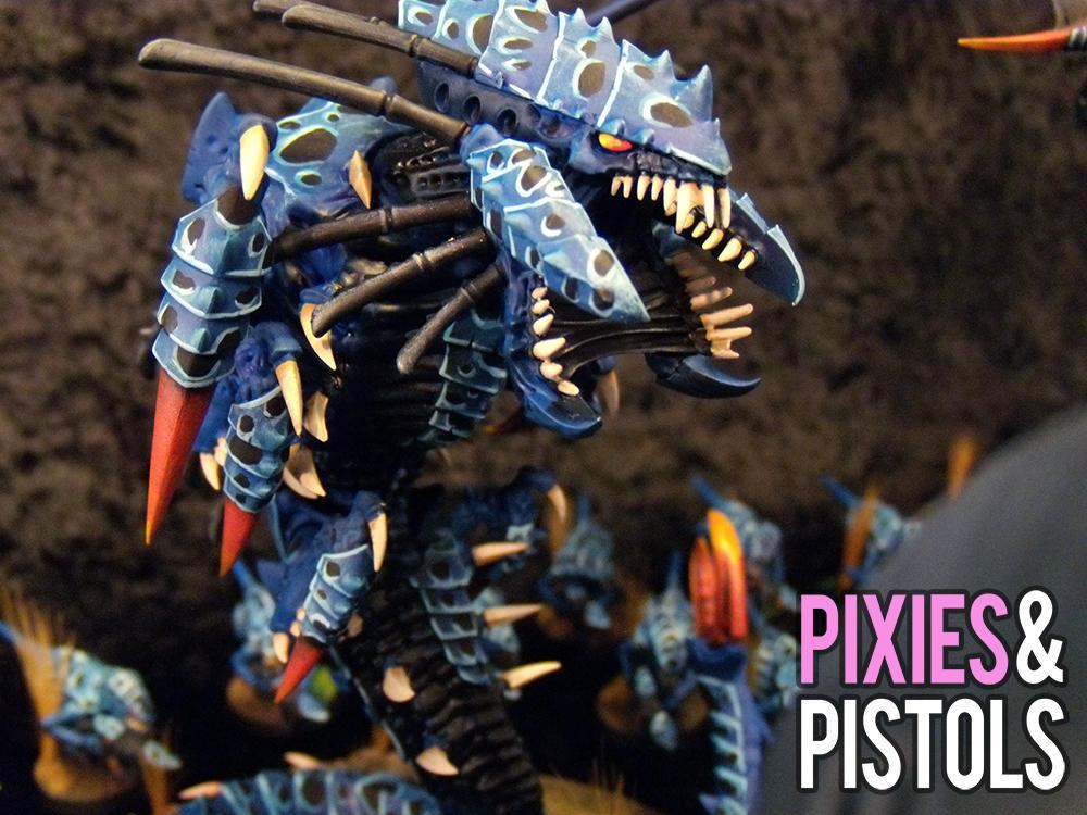 Frontline Gaming, Games-workshop, Miniatures, Pixiesandpistols, Poison Dart, Tyranids, Wargaming, Warhammer 40,000