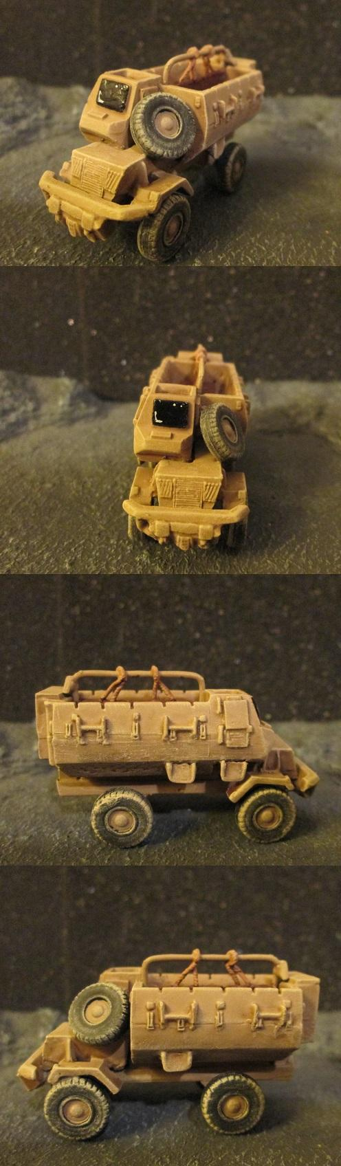 15mm, Apc, Bulldog, Truck