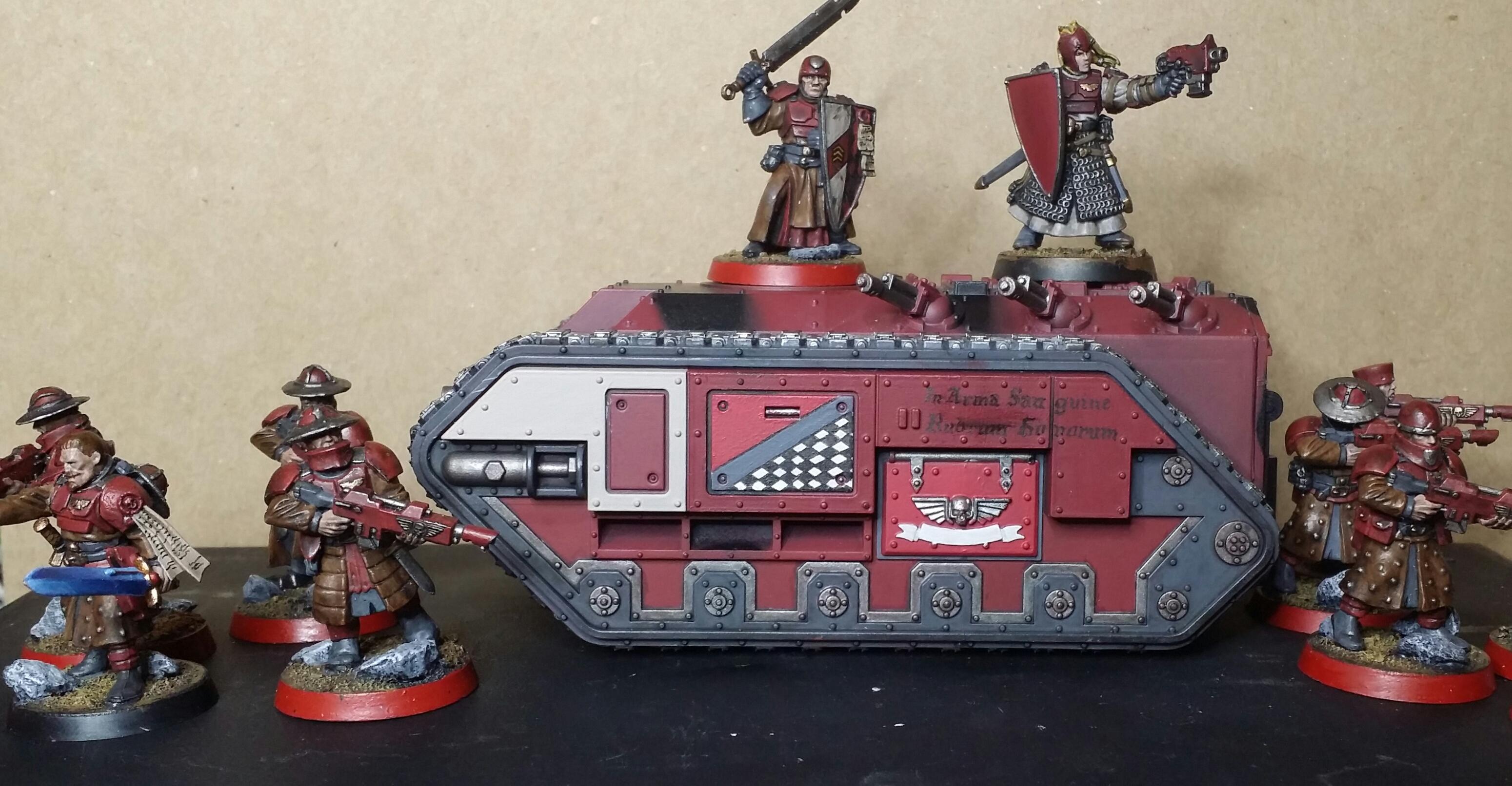Adeptus Mechanicus, Bretonnians, Chimera, Imperial Guard