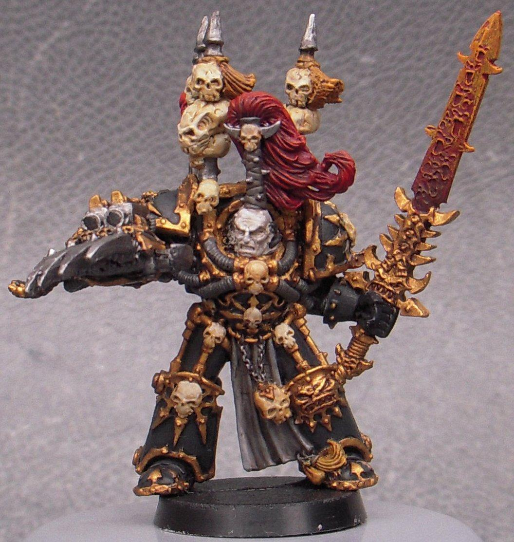 Abaddon, Challenge, Chaos, Monthly, Painting, Princes Of The Universe, Undivided, Unofficial, Warhammer 40,000