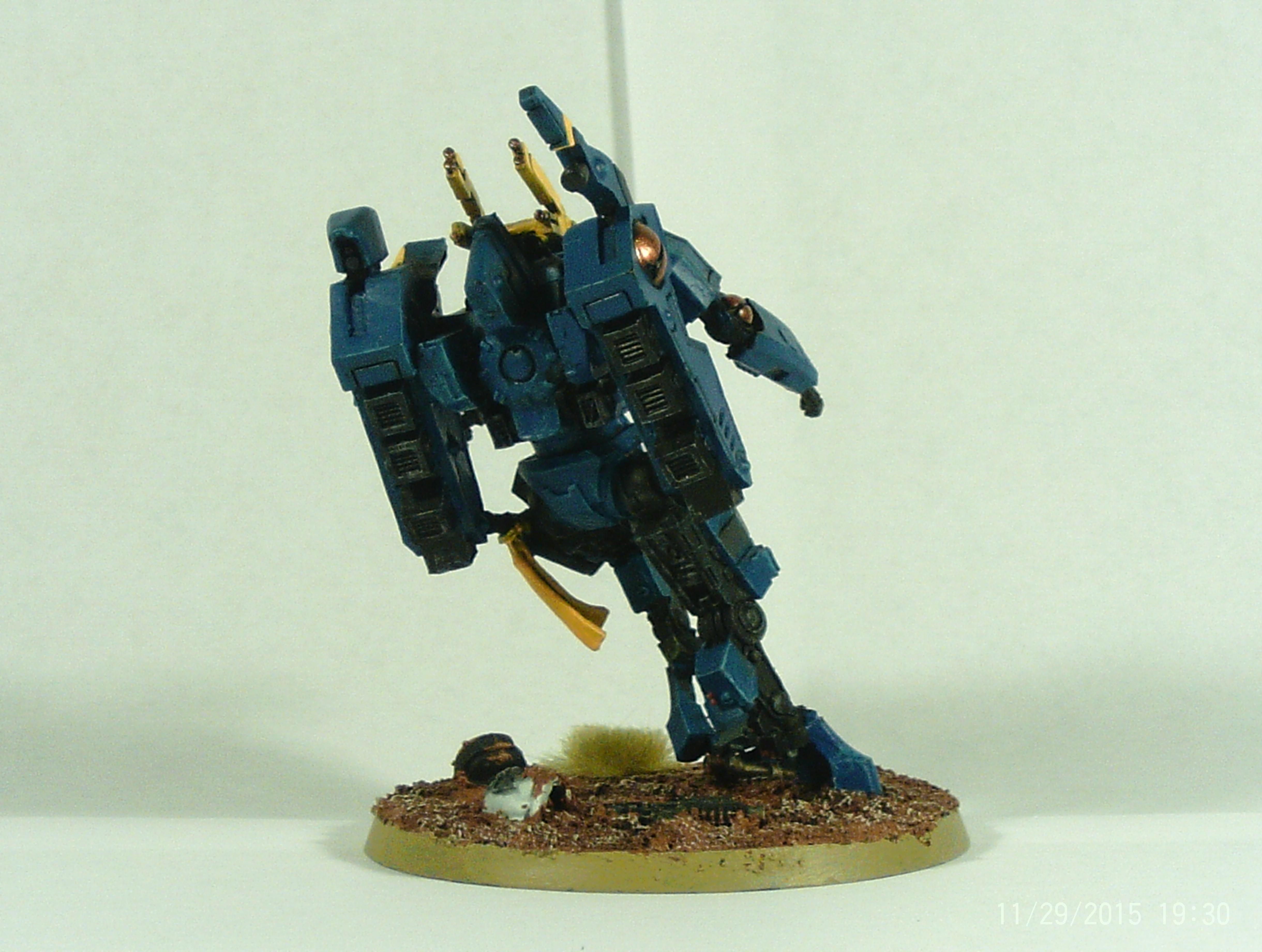 Battlesuit, Commander, Crisis Battlesuit, Fire, Tau, Warriors