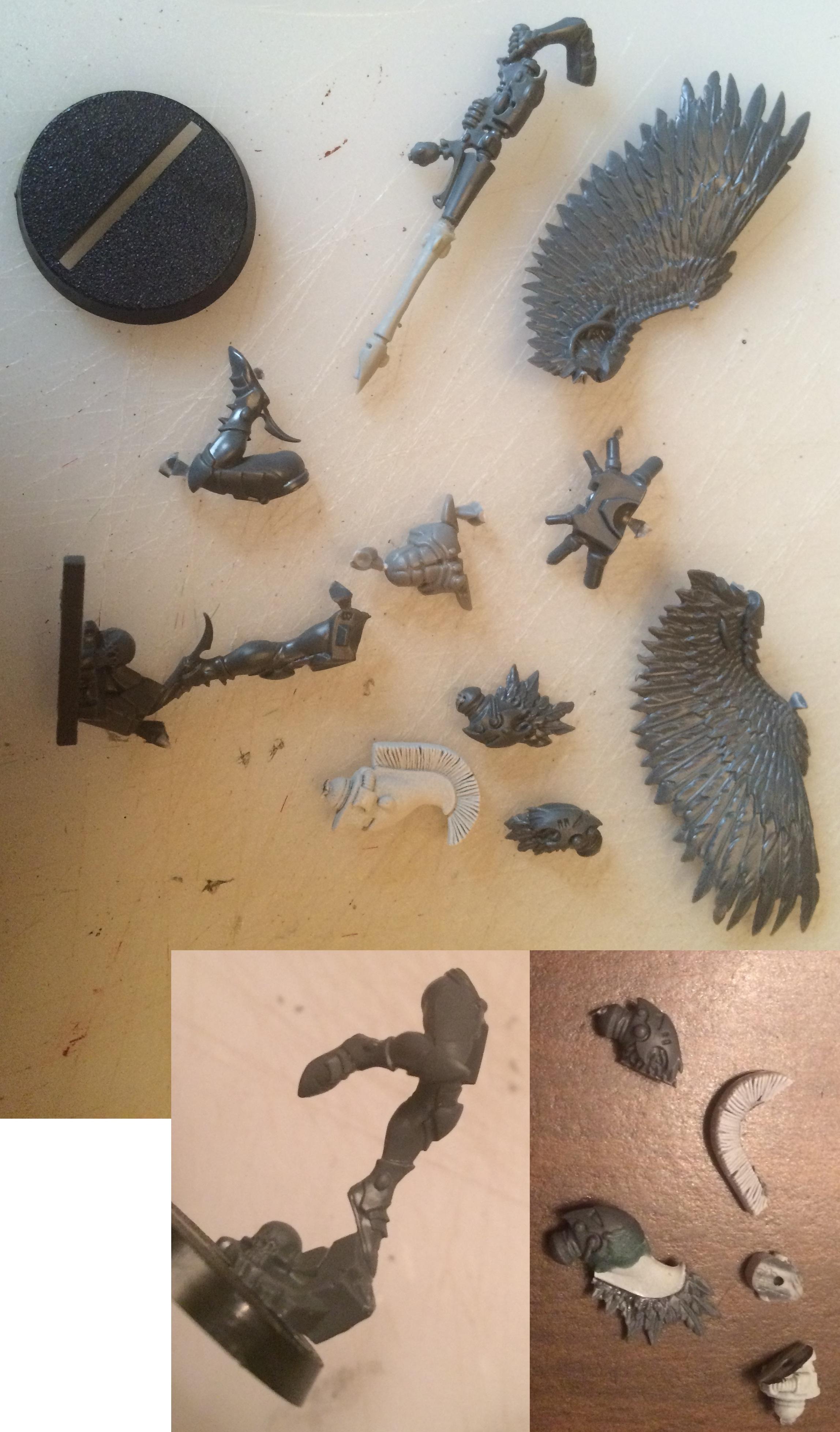 Eldar Aspect, Fire Dragon, Swooping Hawks, Warp Spiders