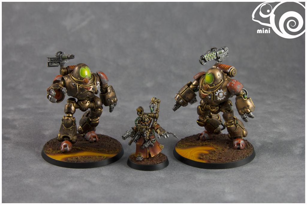 Adeptus Mechanicus, Kastelan Robots, Science-fiction, Steampunk, Warhammer 40,000