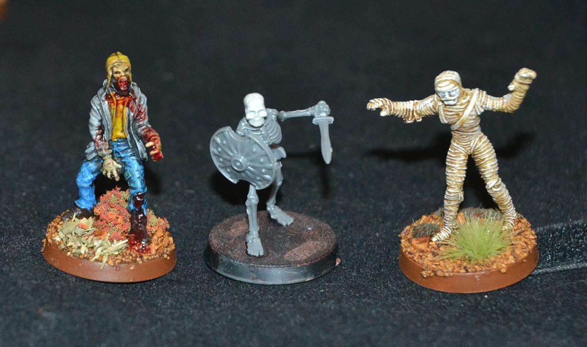Height, Skeletons, Wargames Factory