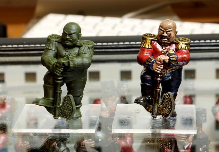 3d Printed, Acrylic Bases, General, Grokagamok, Hero, Kow, Ogres