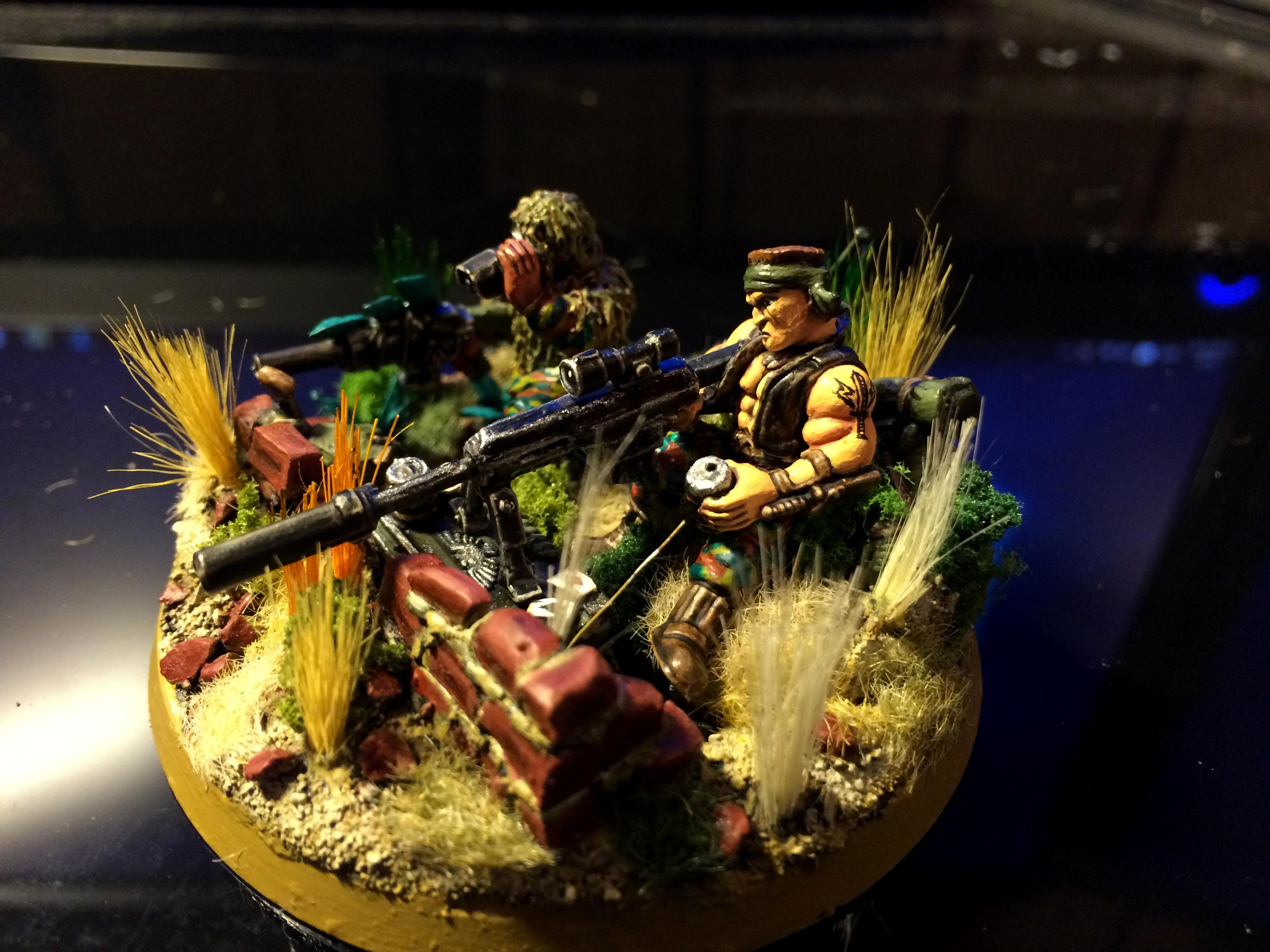 3rd, Astra, Barret, Camouflage, Conversion, Darkon, Ghillie, Guard, Imperial, Militarum, Sharp, Shooter, Snipers, Team