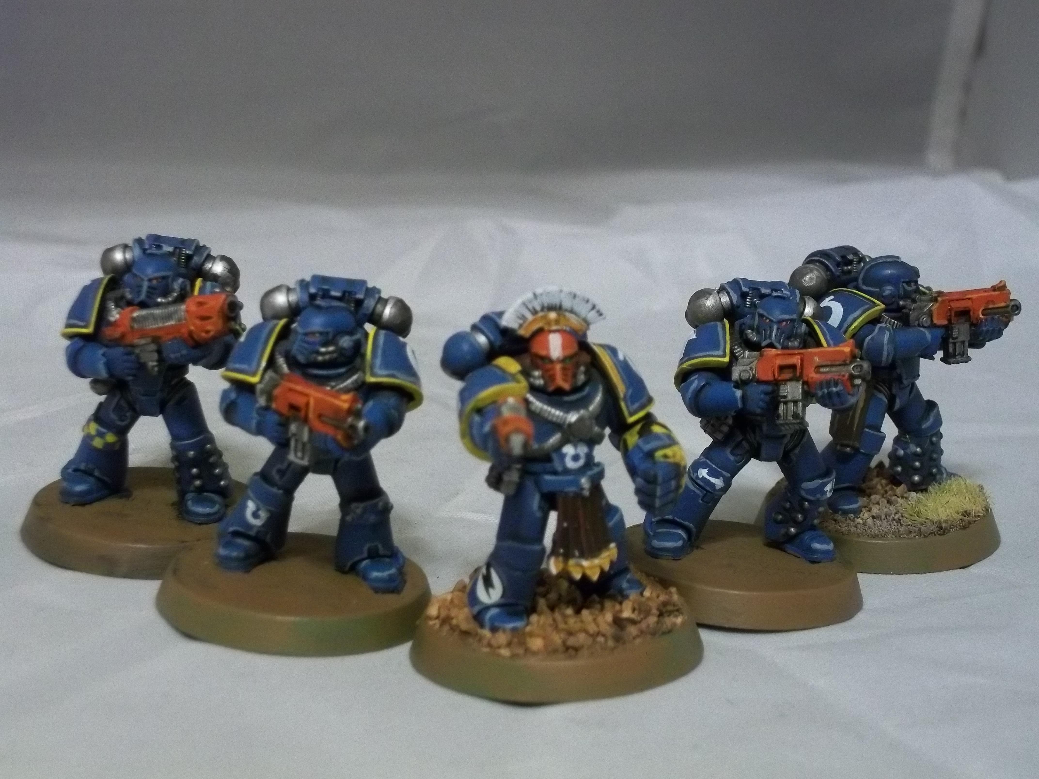 Betrayal At Calth, Heresy Era, Retro, Space Marines, Tactical Squad, Ultramarines