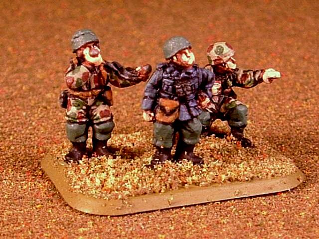 15mm, Fallschirmjager, Germans, World War 2