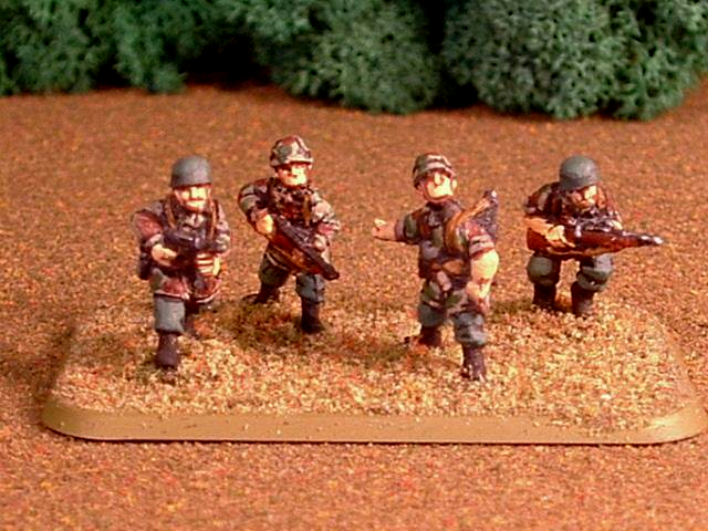 15mm, Fallschirmjager, Germans, World War 2