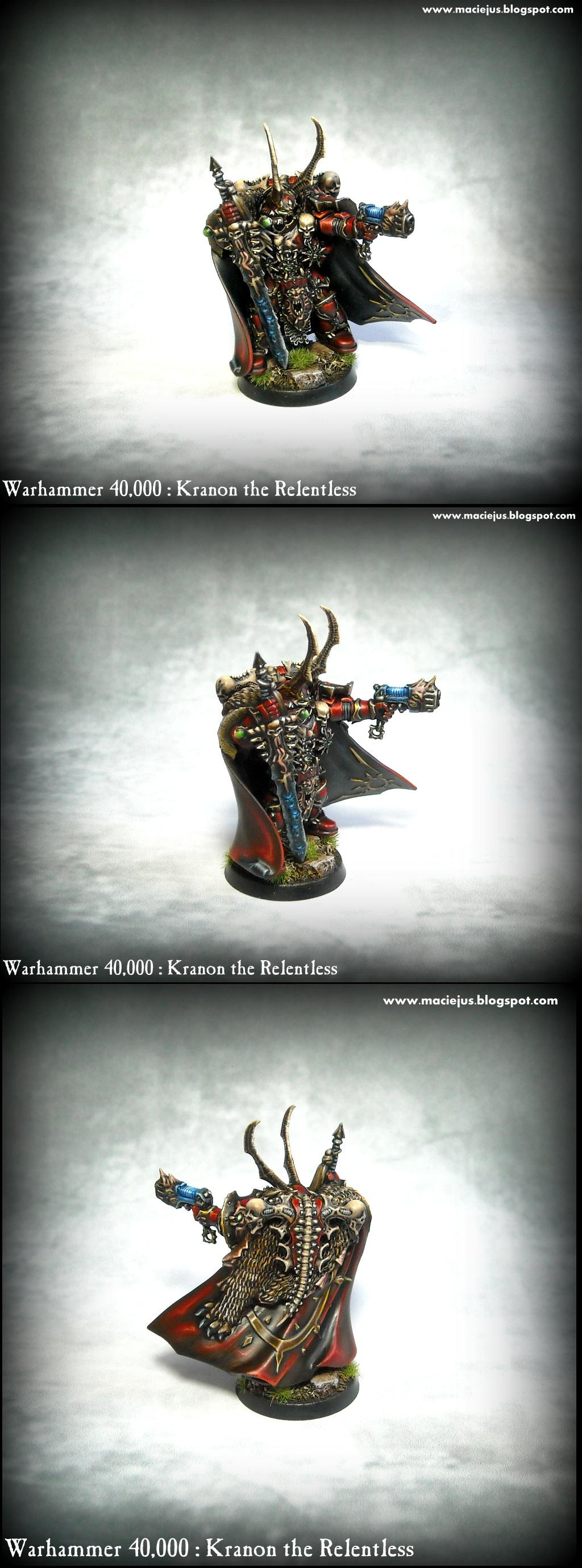 Chaos, Chaos Lord, Chaos Space Marines, Crimson Slaughter, Dark Vengeance, Khorne, Kranon The Relentless, Warhammer 40,000