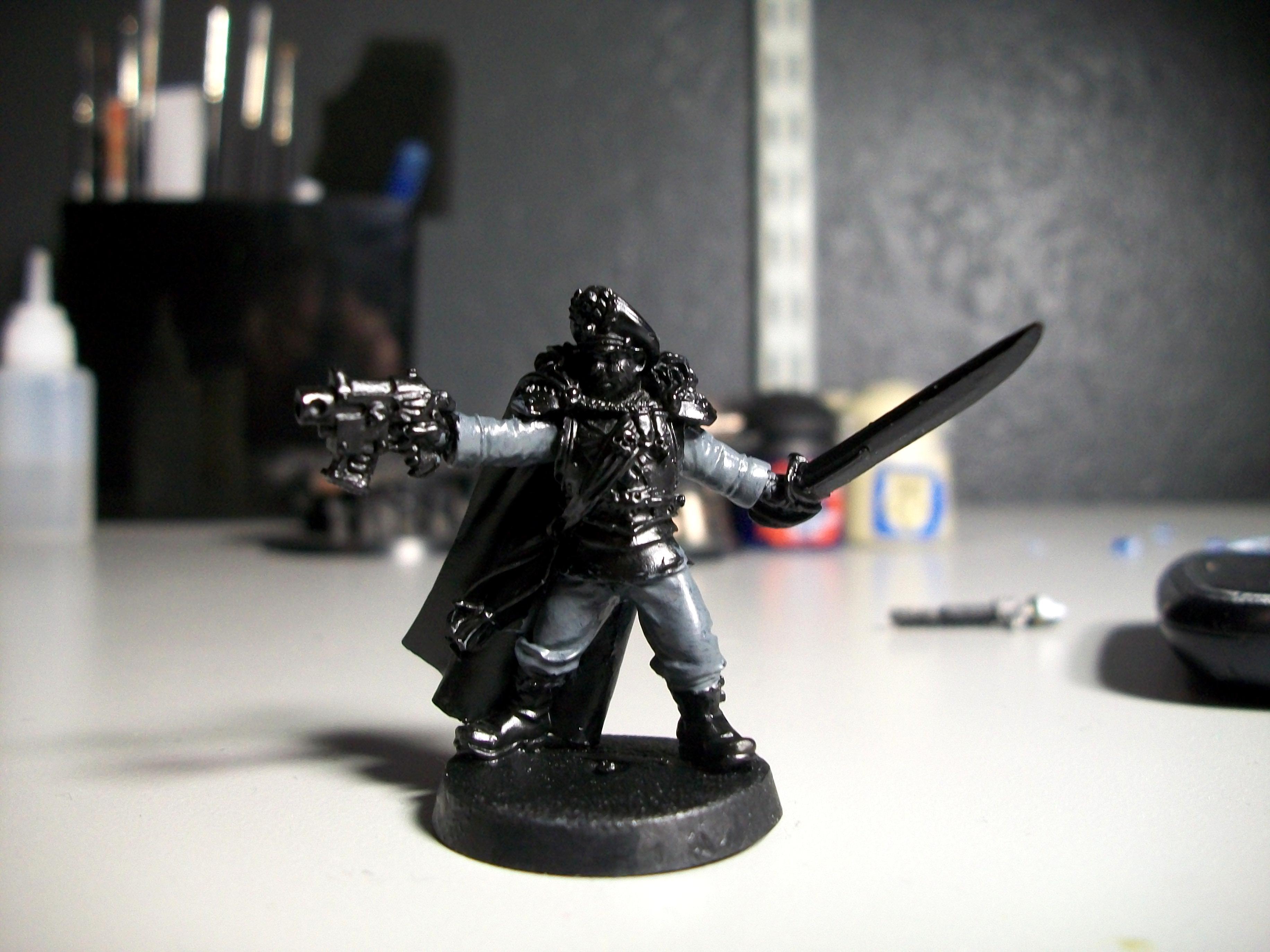 Commissar, Imperial Guard, Solar Auxilia, Work In Progress
