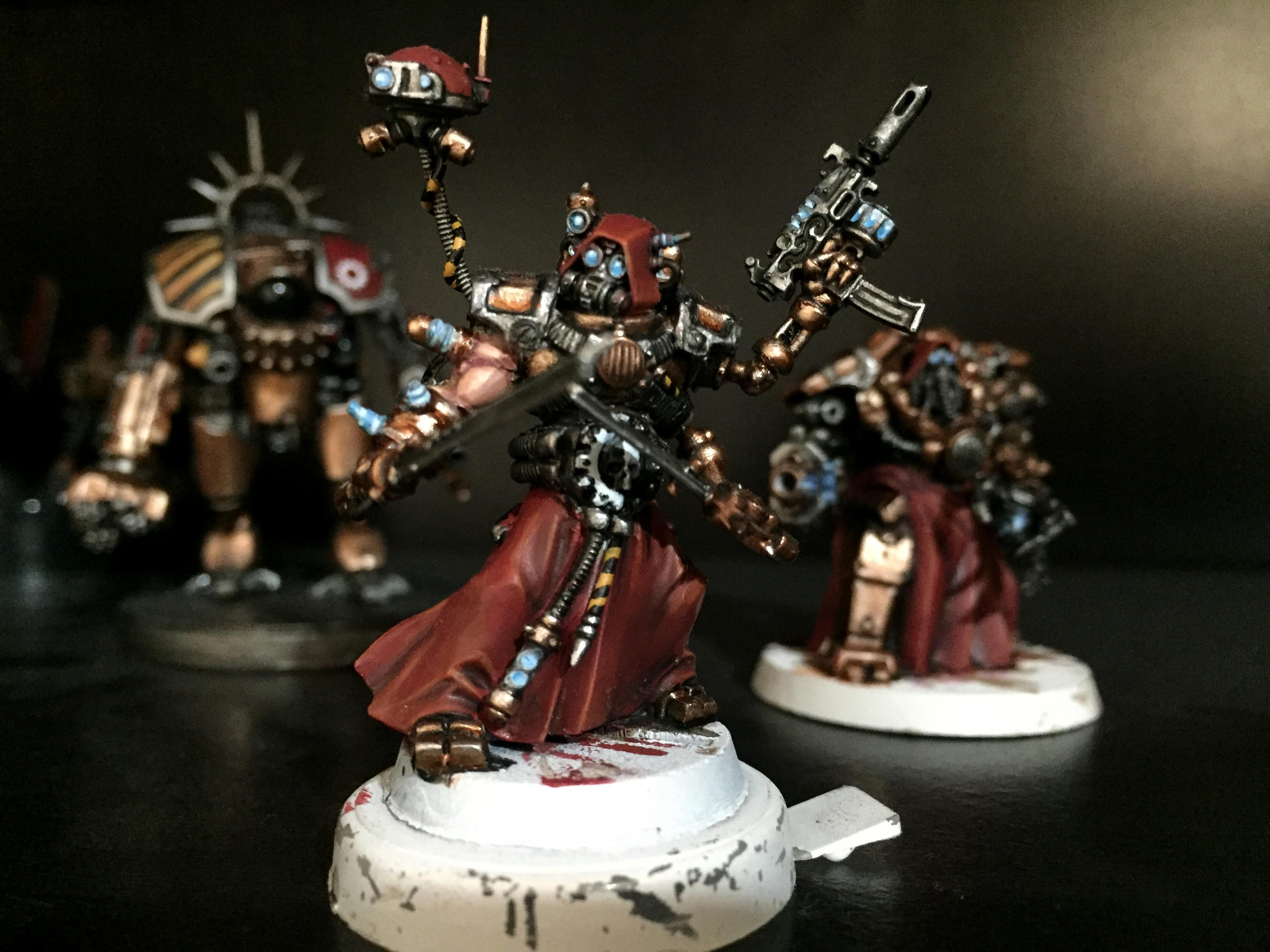 Ad Mech, Adeptus, Admech, Mechanicus, Skitarrii, Warhammer 40,000