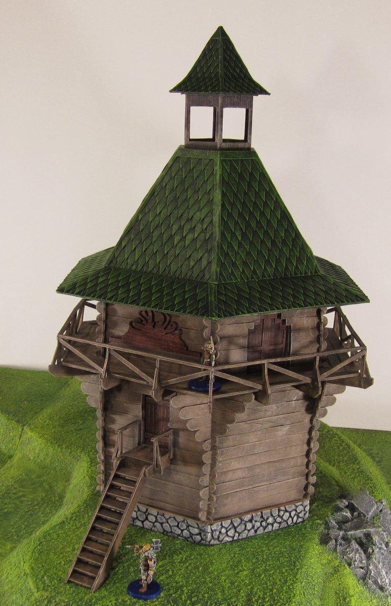 Craft Sticks, Terrain, Terrain Contest, Watchtower, Wood